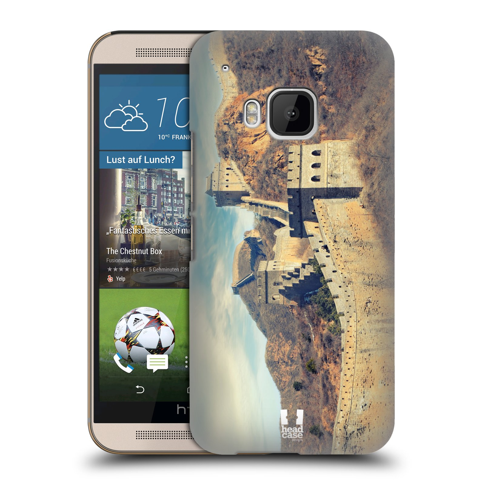 head case designs famous landmarks hard back case for htc
