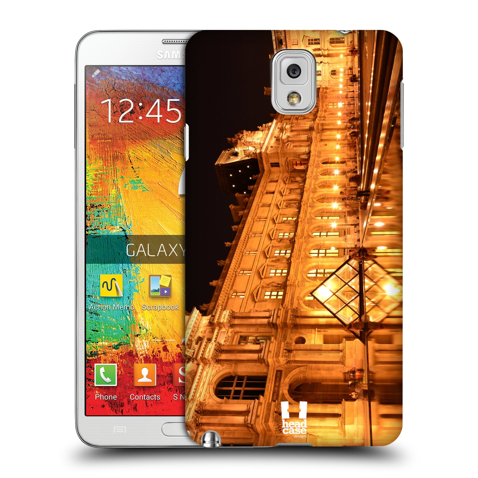 head case designs famous landmarks hard back case for