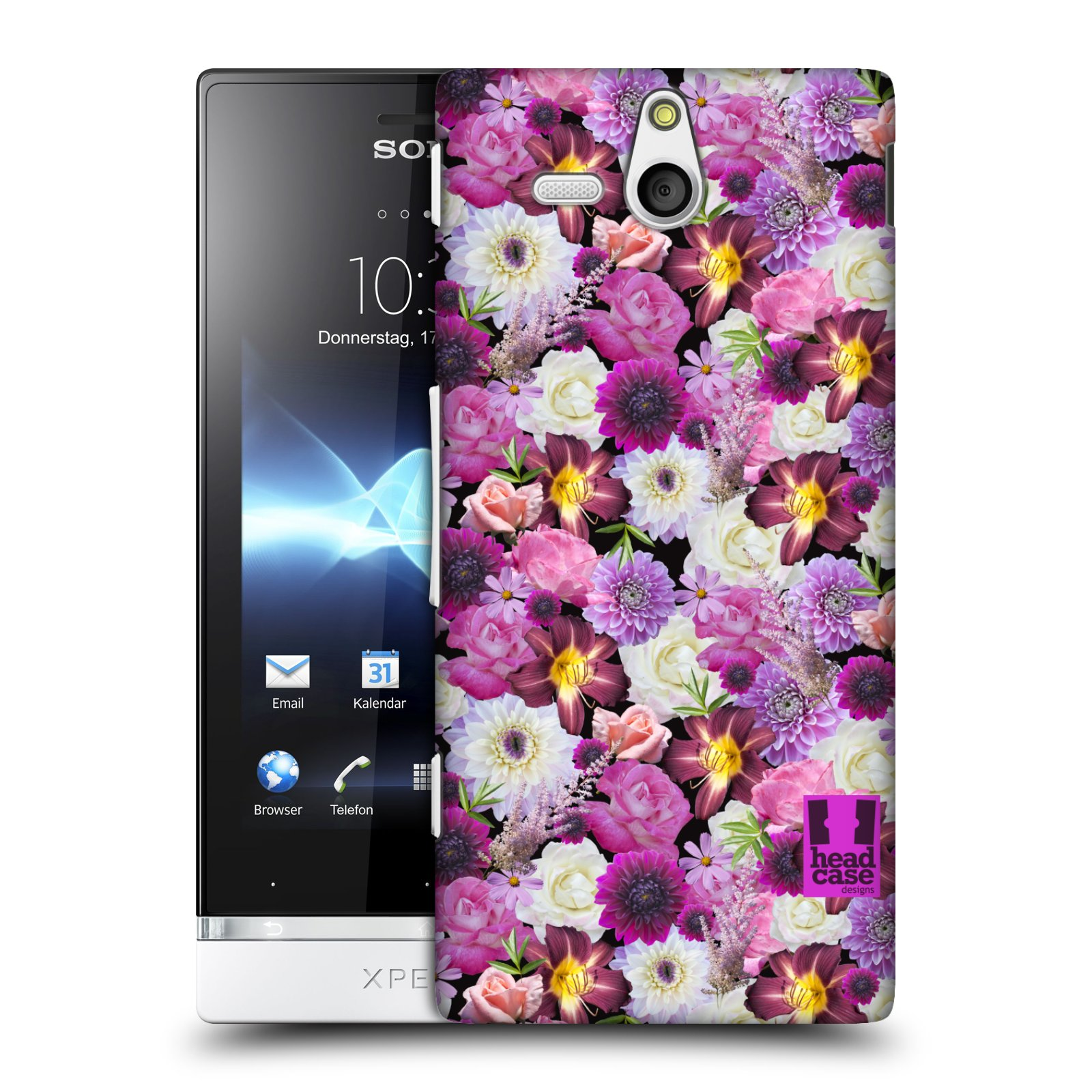 HEAD-CASE-DESIGNS-FLOWERS-CASE-COVER-FOR-SONY-XPERIA-U-ST25i