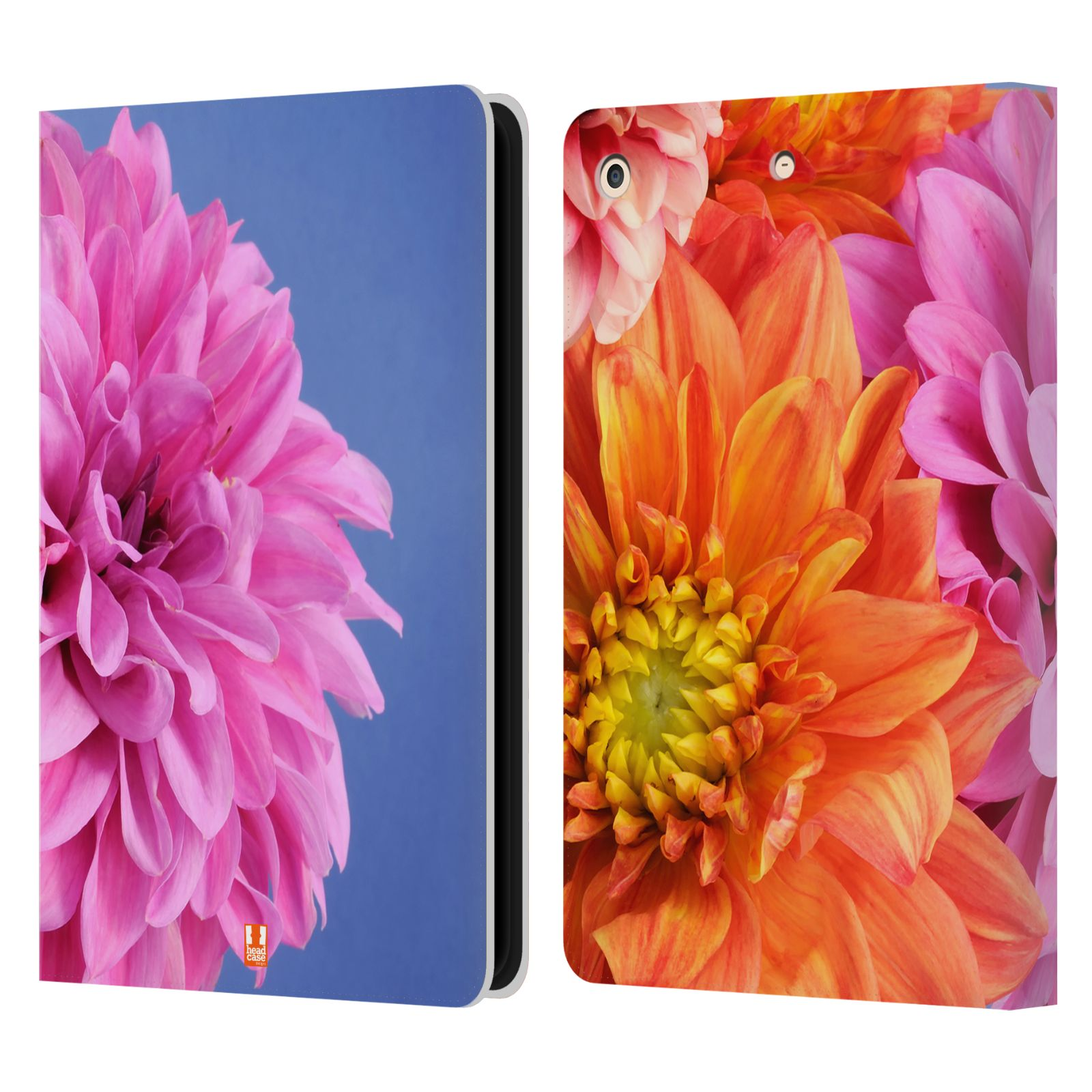 Book Cover Design Flower : Head case designs flowers leather book wallet cover