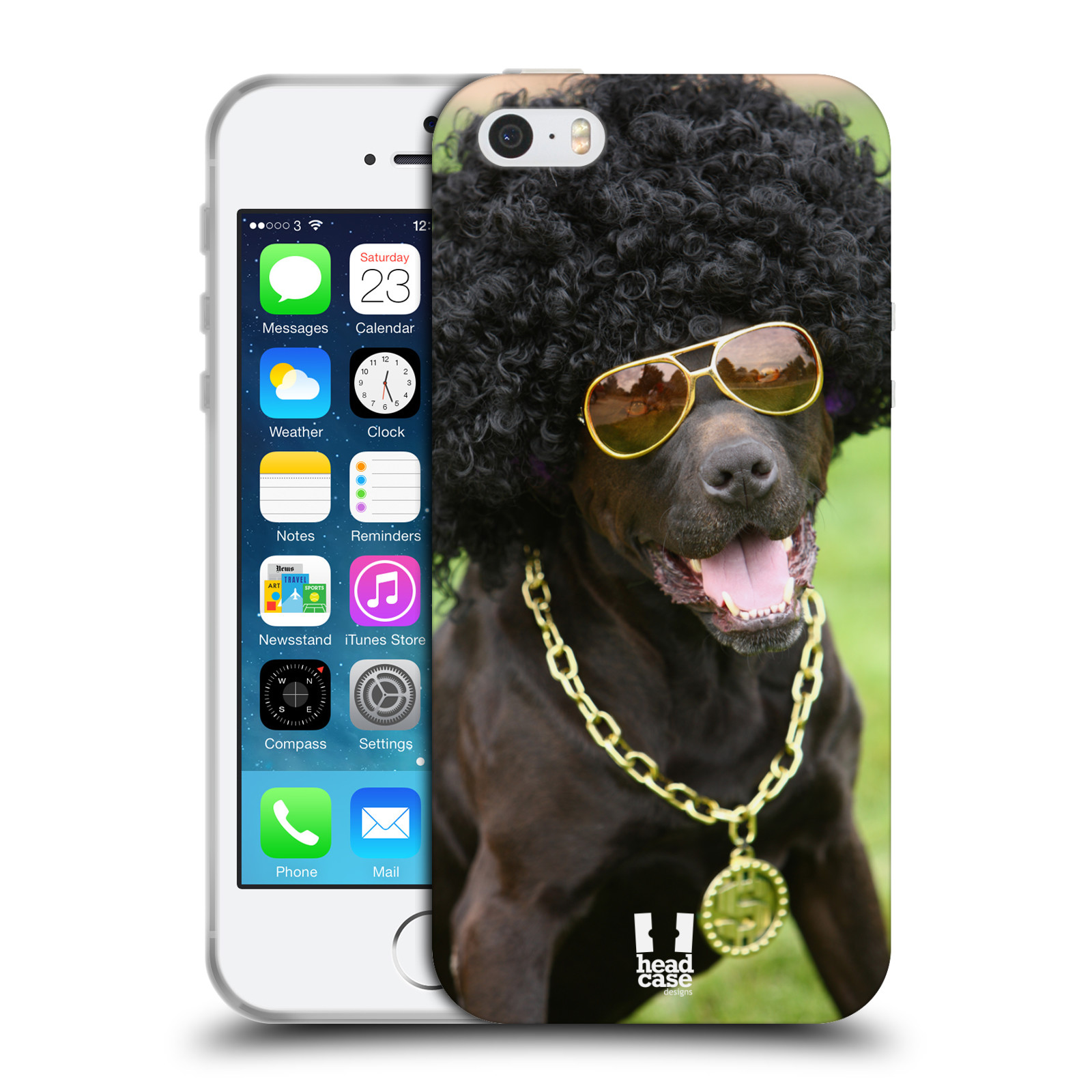 HEAD CASE DESIGNS FUNNY ANIMALS GEL CASE FOR APPLE iPHONE ...