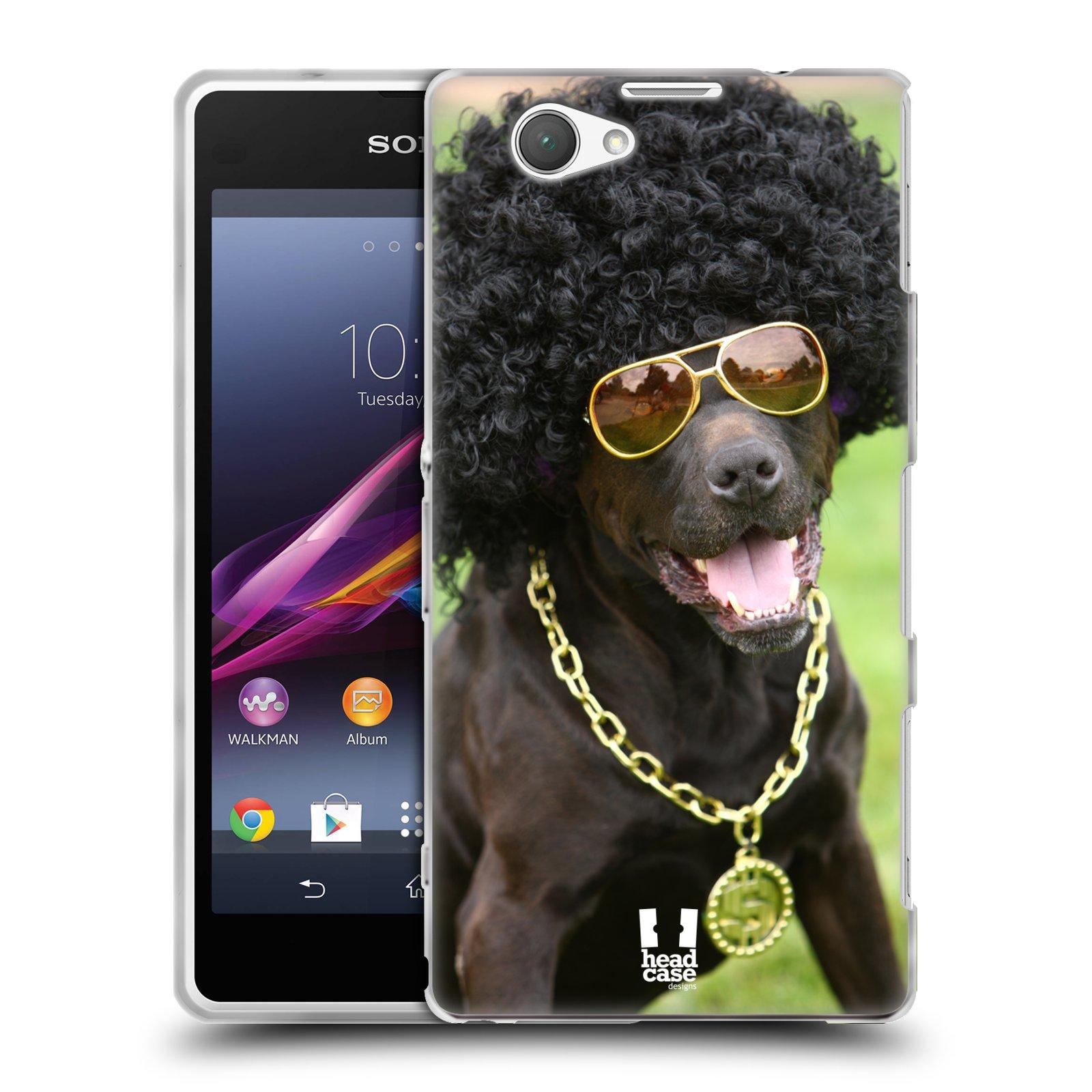 HEAD CASE silikonový obal na mobil Sony Xperia Z1 COMPACT (D5503) vzor Legrační zvířátka pejsek boháč