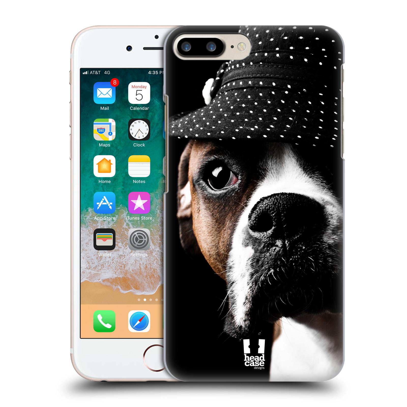 HEAD CASE plastový obal na mobil Apple Iphone 7 PLUS vzor Legrační zvířátka pejsek frajer