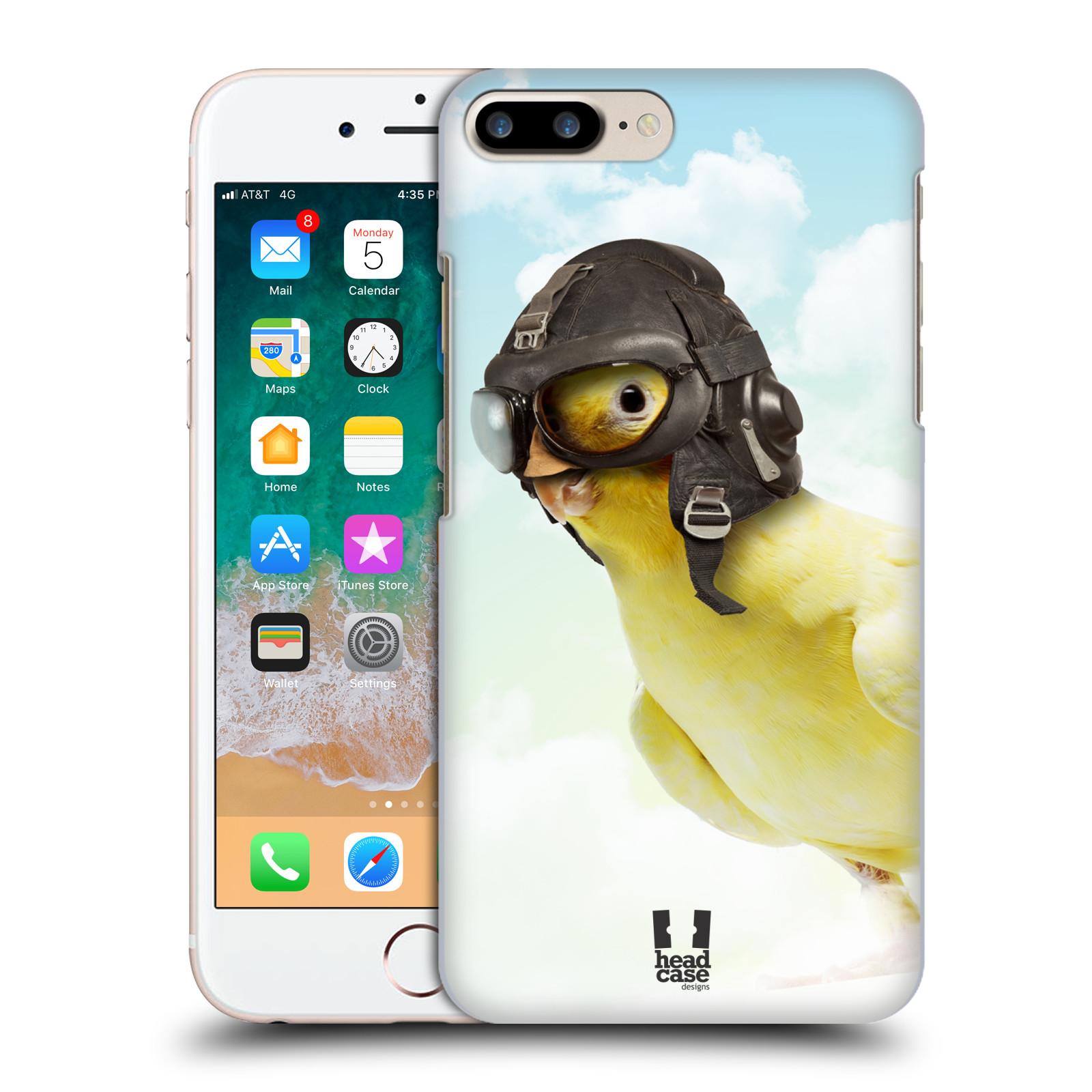 HEAD CASE plastový obal na mobil Apple Iphone 7 PLUS vzor Legrační zvířátka ptáček letec