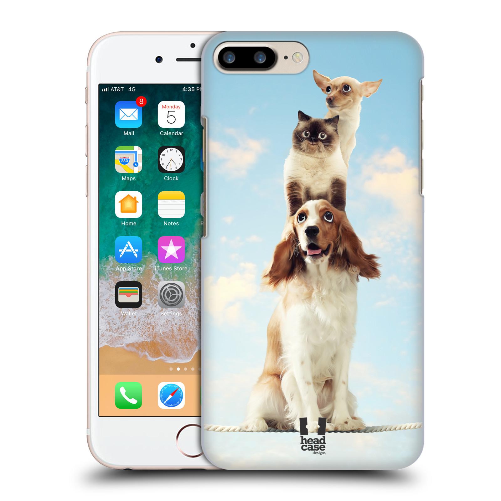 HEAD CASE plastový obal na mobil Apple Iphone 7 PLUS vzor Legrační zvířátka zvířecí totem