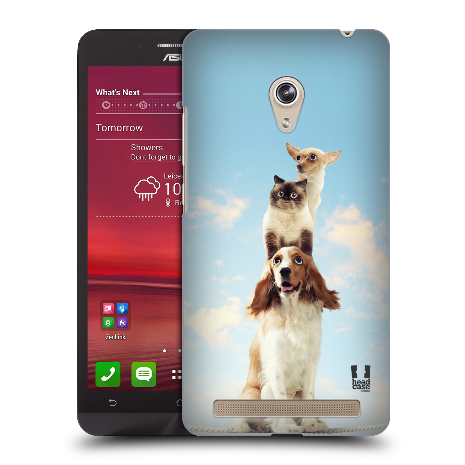 HEAD CASE plastový obal na mobil Asus Zenfone 6 vzor Legrační zvířátka zvířecí totem