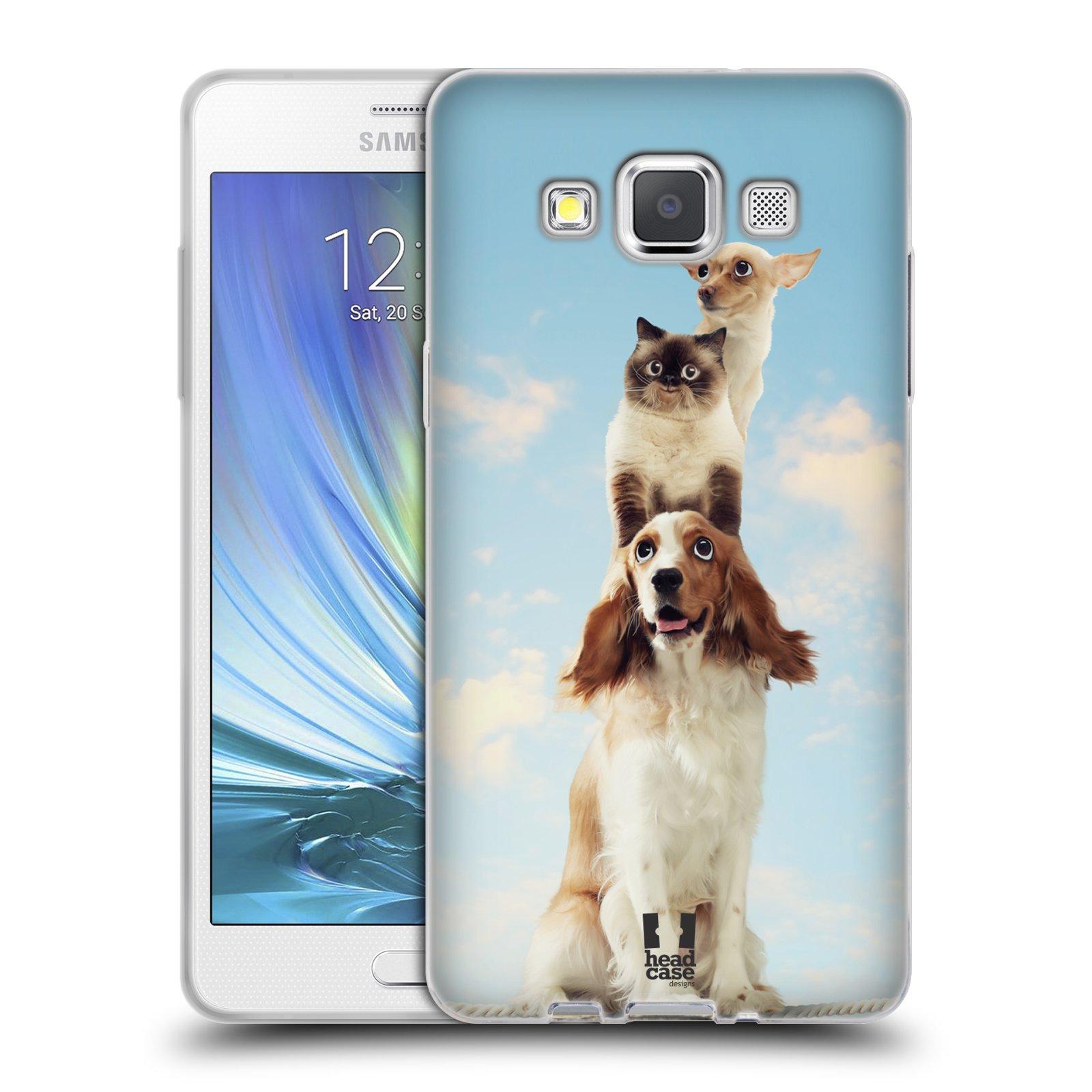 HEAD CASE silikonový obal na mobil Samsung Galaxy A5 vzor Legrační zvířátka zvířecí totem
