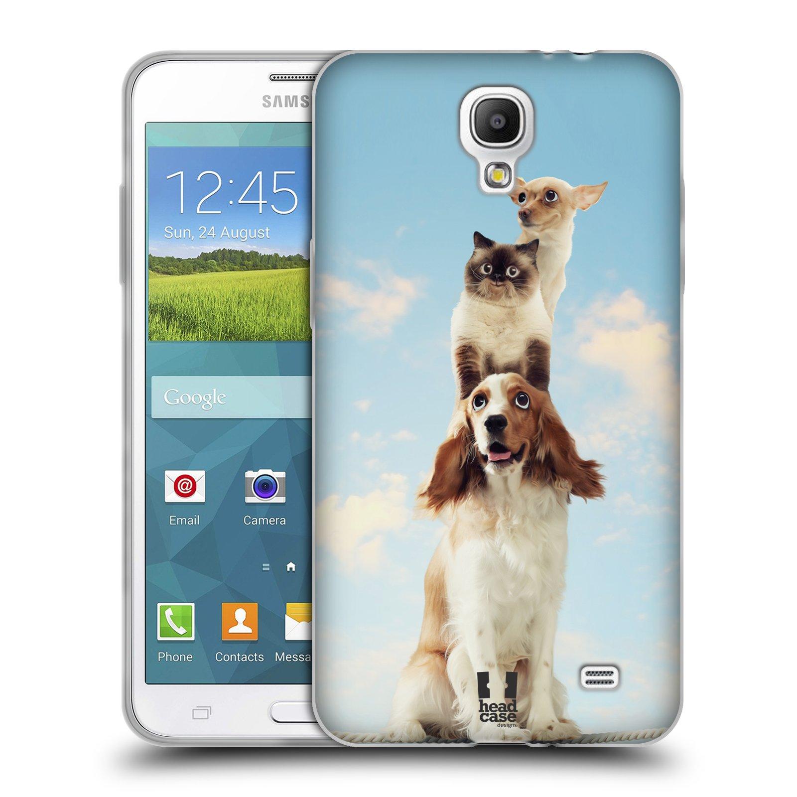 HEAD CASE silikonový obal na mobil Samsung Galaxy Mega 2 vzor Legrační  zvířátka zvířecí totem e14b9edf741