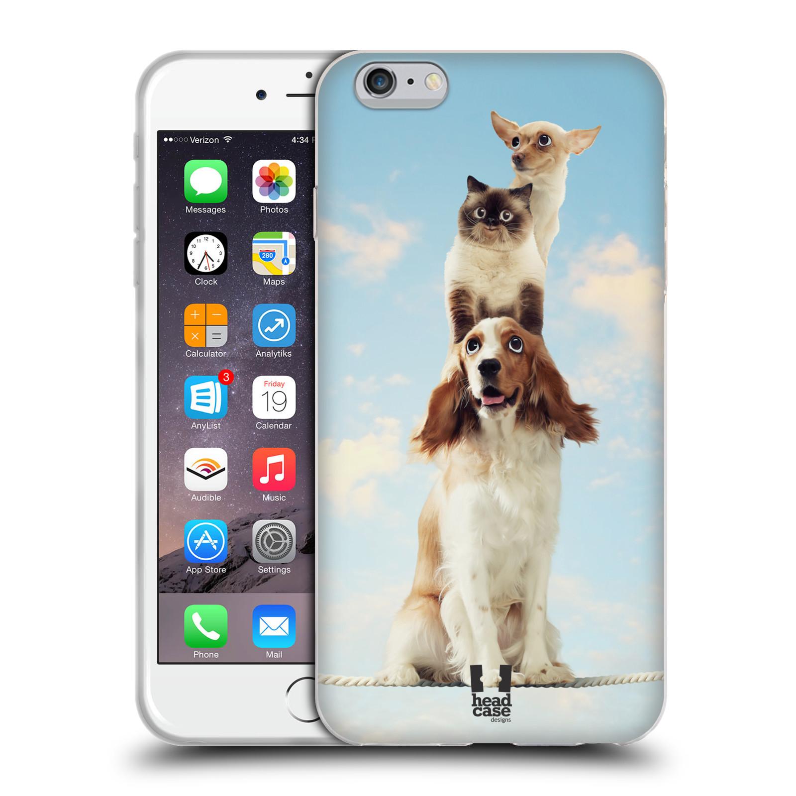 HEAD CASE silikonový obal na mobil Apple Iphone 6 PLUS/ 6S PLUS vzor Legrační zvířátka zvířecí totem