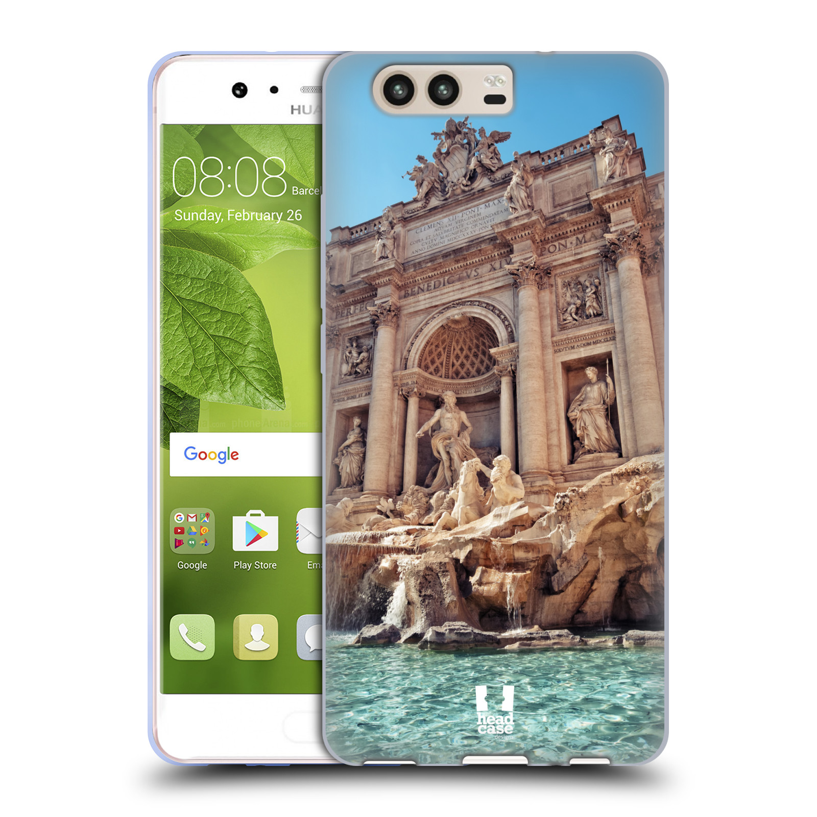 HEAD-CASE-DESIGNS-SCORCI-DI-ROMA-COVER-MORBIDA-IN-GEL-PER-HUAWEI-P10
