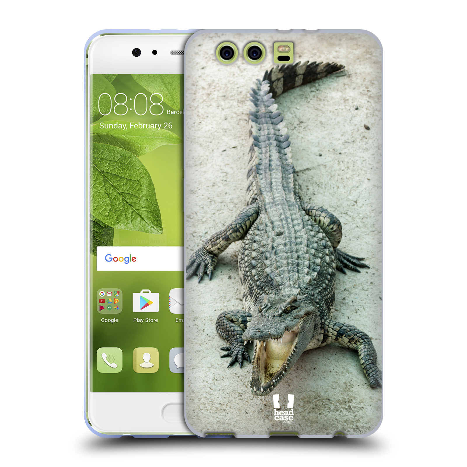 HEAD CASE silikonový obal na mobil Huawei P10 PLUS vzor Divočina 42f12541668