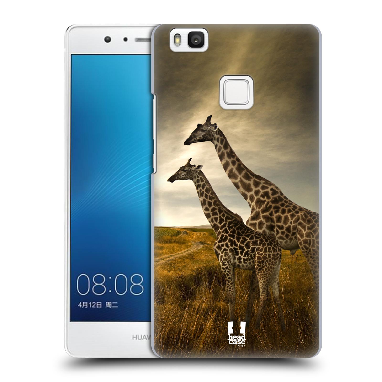 HEAD CASE plastový obal na mobil Huawei P9 LITE / P9 LITE DUAL SIM vzor Divočina, Divoký život a zvířata foto AFRIKA ŽIRAFY VÝHLED