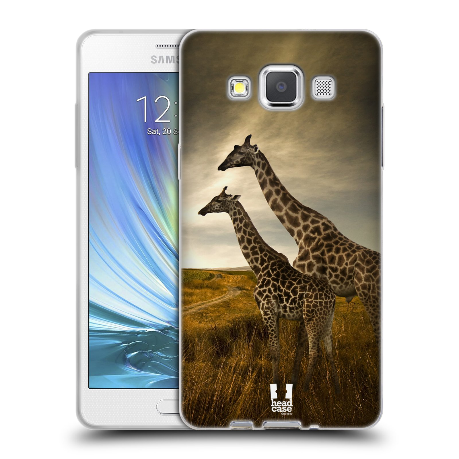 HEAD CASE silikonový obal na mobil Samsung Galaxy A5 vzor Divočina 8a1e52401b8