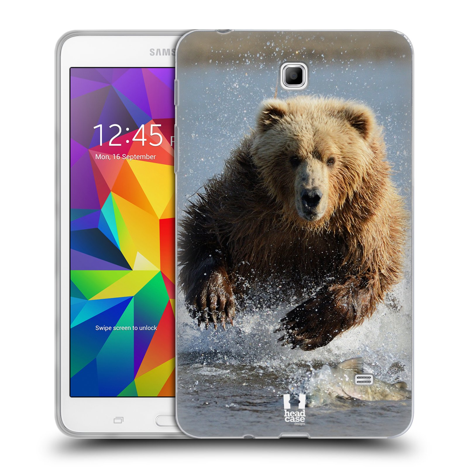 head case wildlife silicone gel case for samsung galaxy. Black Bedroom Furniture Sets. Home Design Ideas