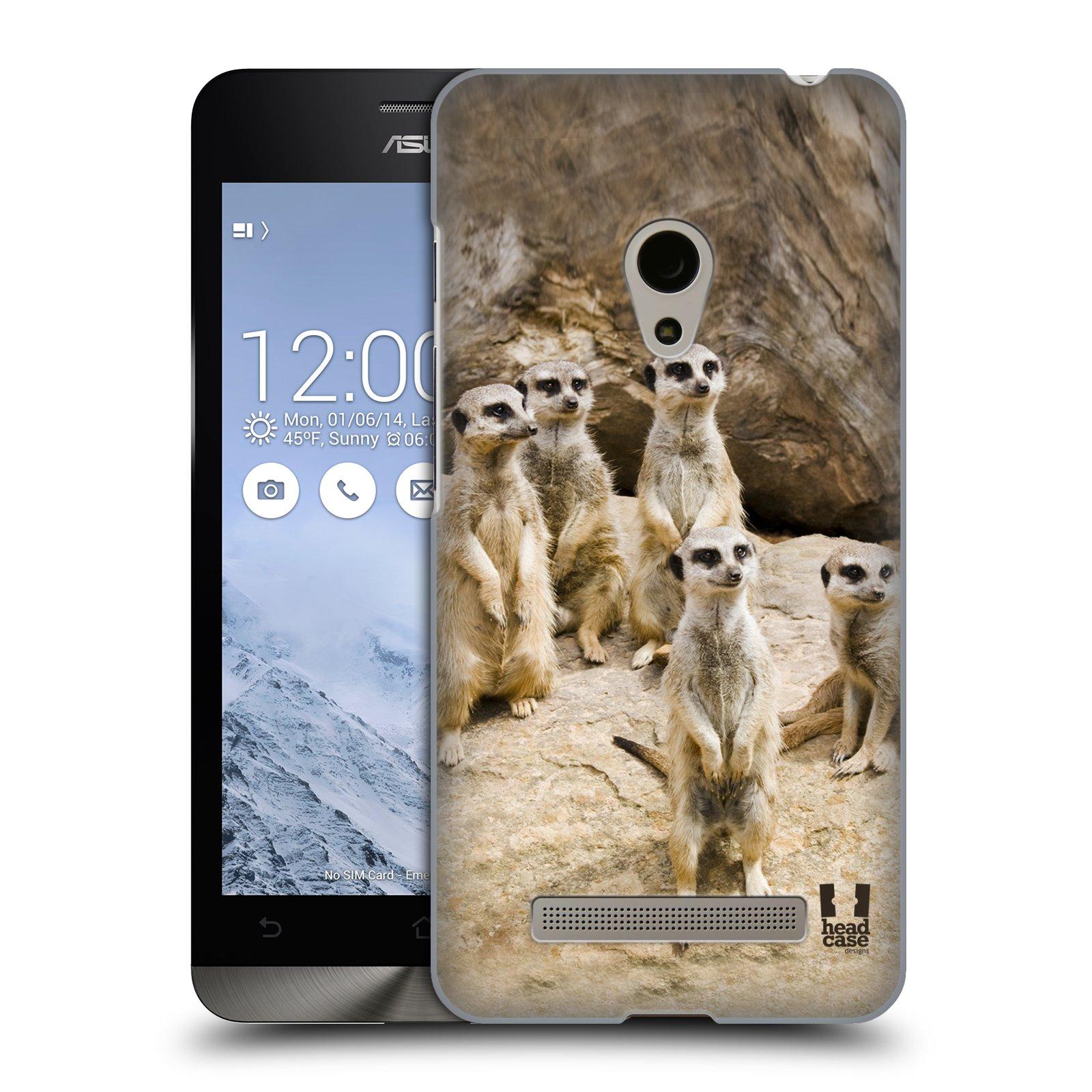 HEAD CASE plastový obal na mobil Asus Zenfone 5 vzor Divočina, Divoký život a zvířata foto SURIKATA