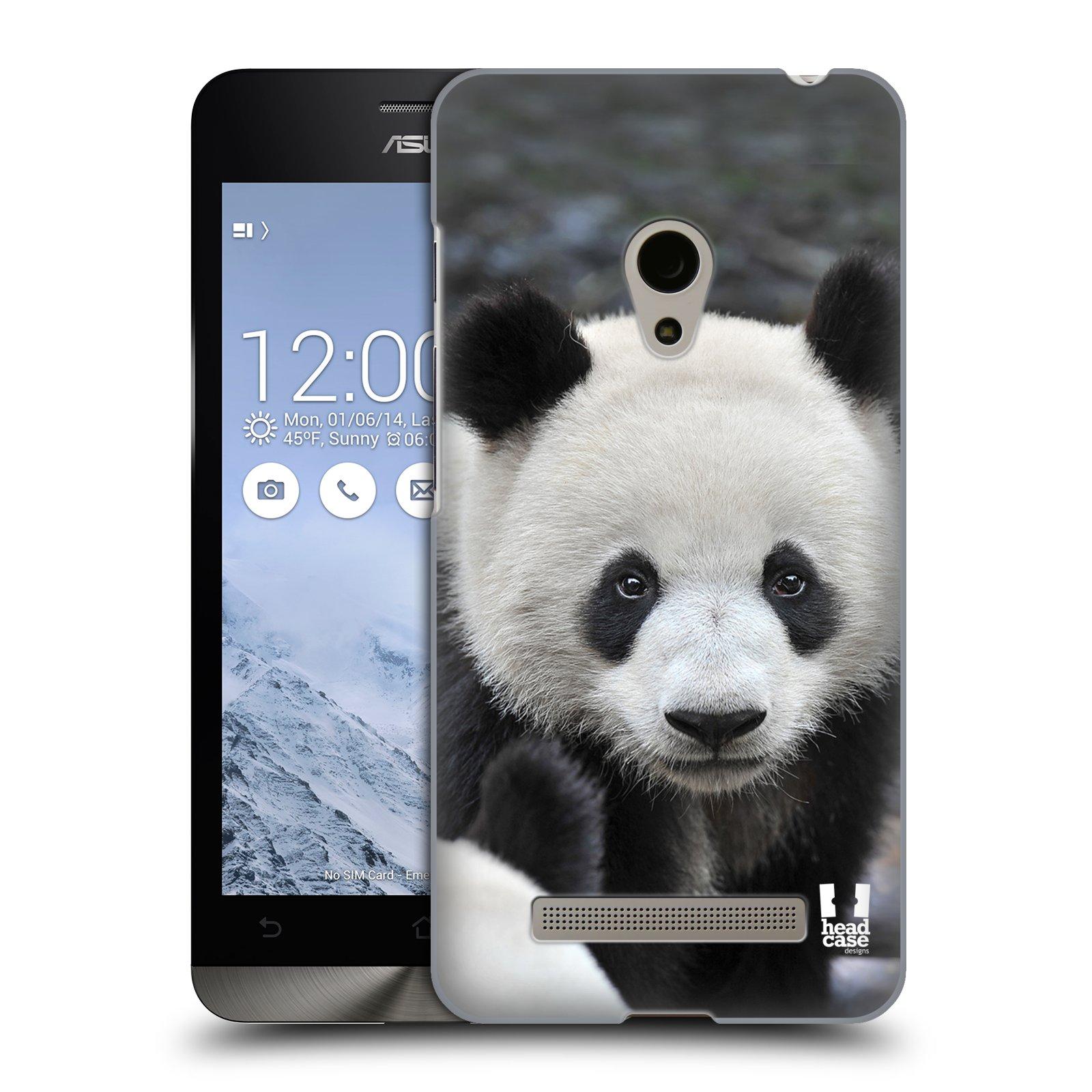 HEAD CASE plastový obal na mobil Asus Zenfone 5 vzor Divočina, Divoký život a zvířata foto MEDVĚD PANDA