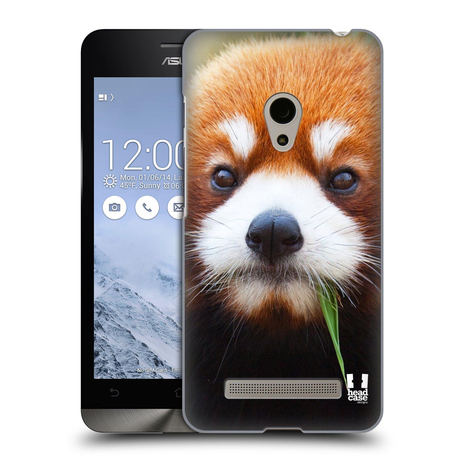 HEAD CASE plastový obal na mobil Asus Zenfone 5 vzor Divočina, Divoký život a zvířata foto PANDA HNĚDÁ