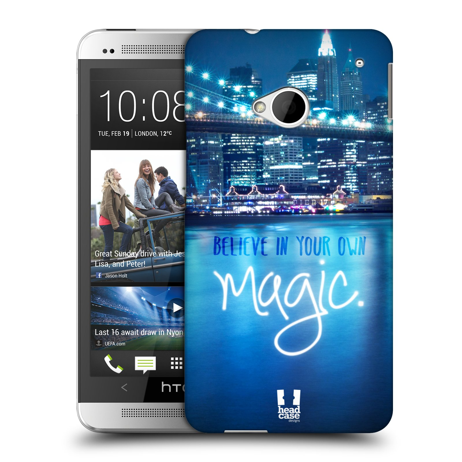 HEAD CASE DESIGNS WORDS TO LIVE BY SERIES 4 CASE COVER FOR HTC ONE