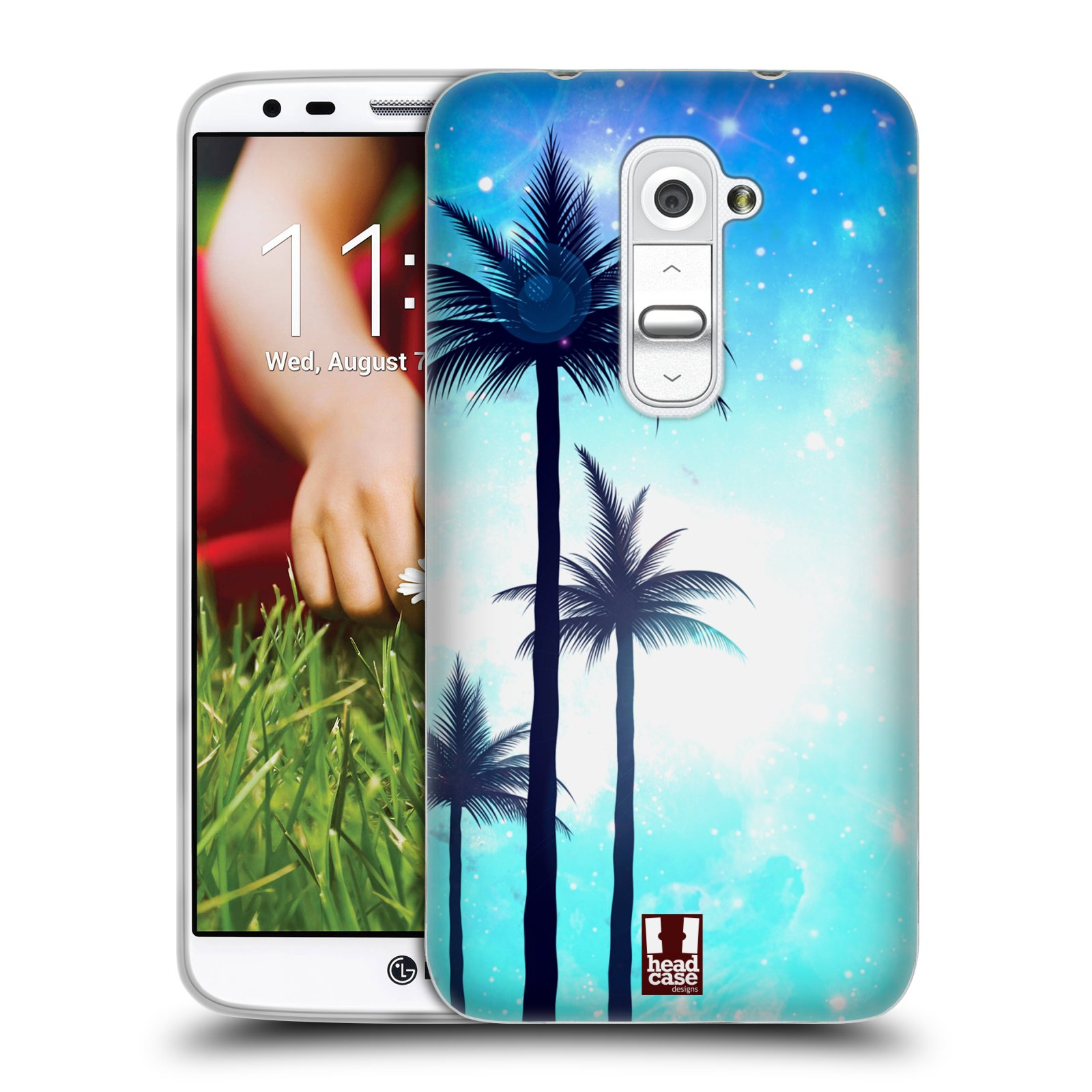 HEAD CASE SUMMER SILHOUETTES SILICONE GEL CASE FOR LG G2 D802
