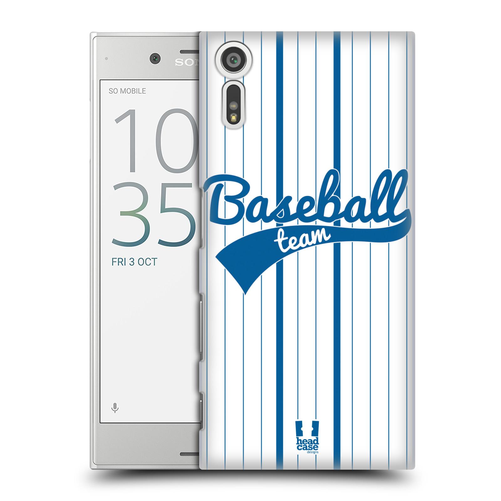 HEAD CASE plastový obal na mobil Sony Xperia XZ Sportovní dres Baseball
