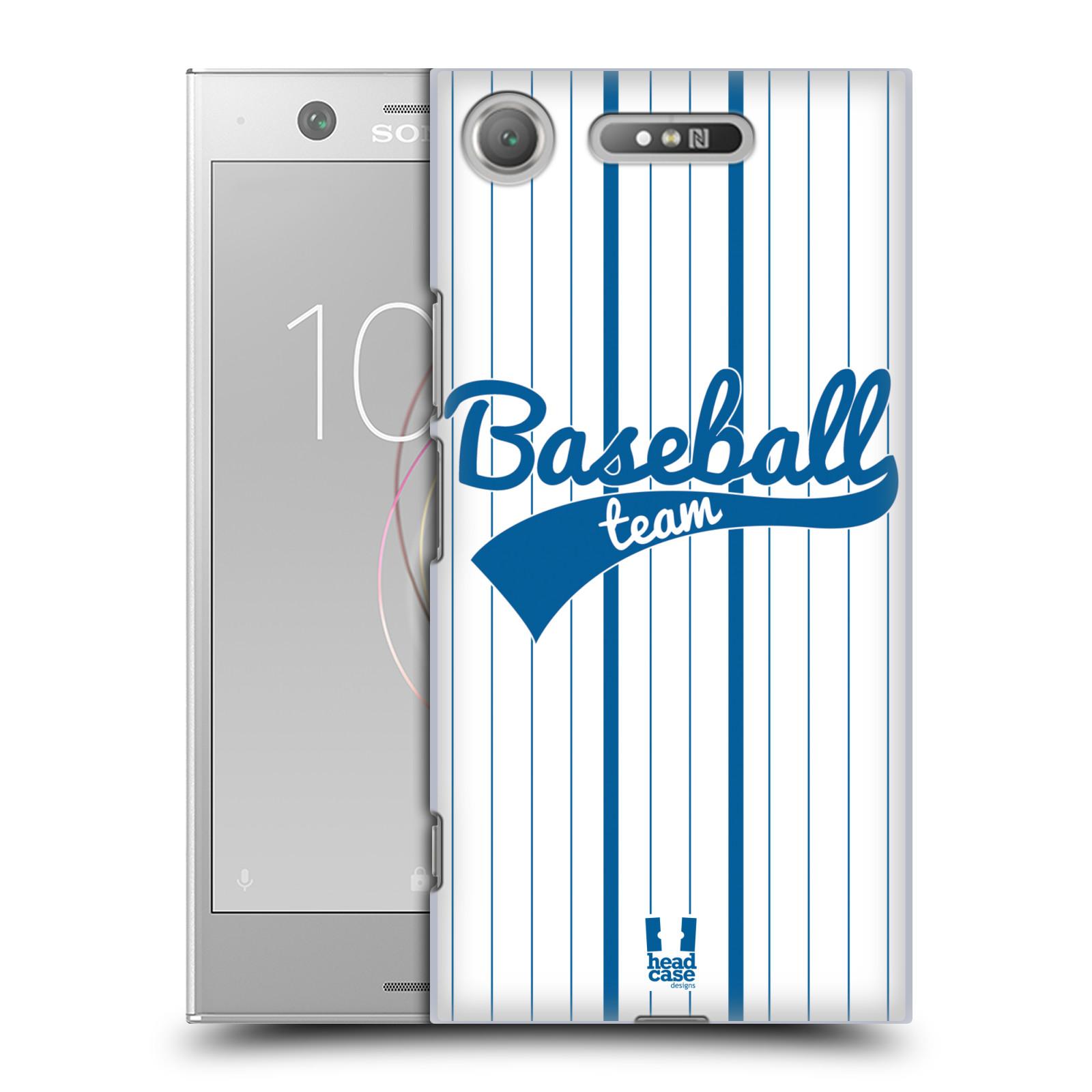 HEAD CASE plastový obal na mobil Sony Xperia XZ1 Sportovní dres Baseball