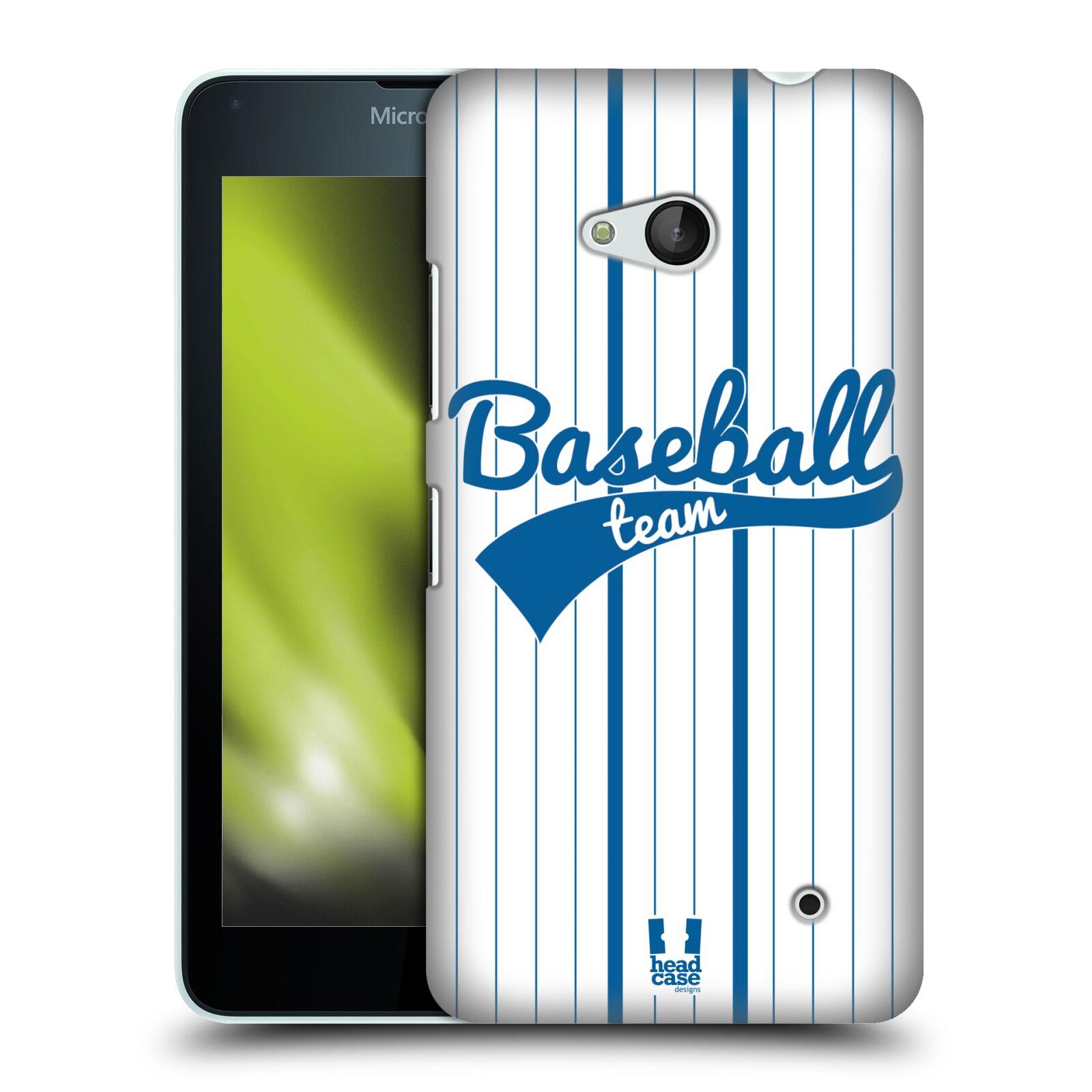 HEAD CASE plastový obal na mobil Nokia Lumia 640 Sportovní dres Baseball