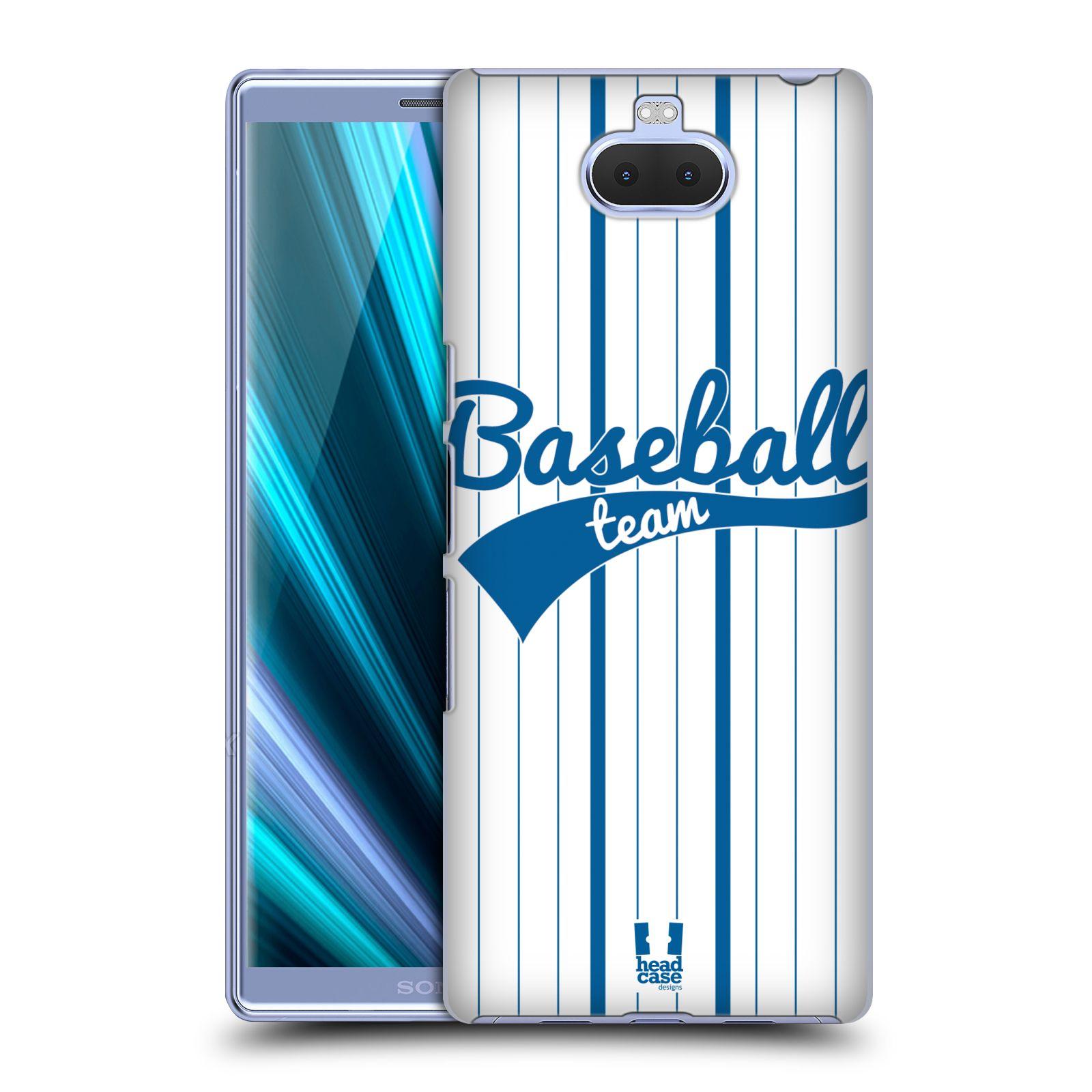 Pouzdro na mobil Sony Xperia 10 - Head Case - Sportovní dres Baseball