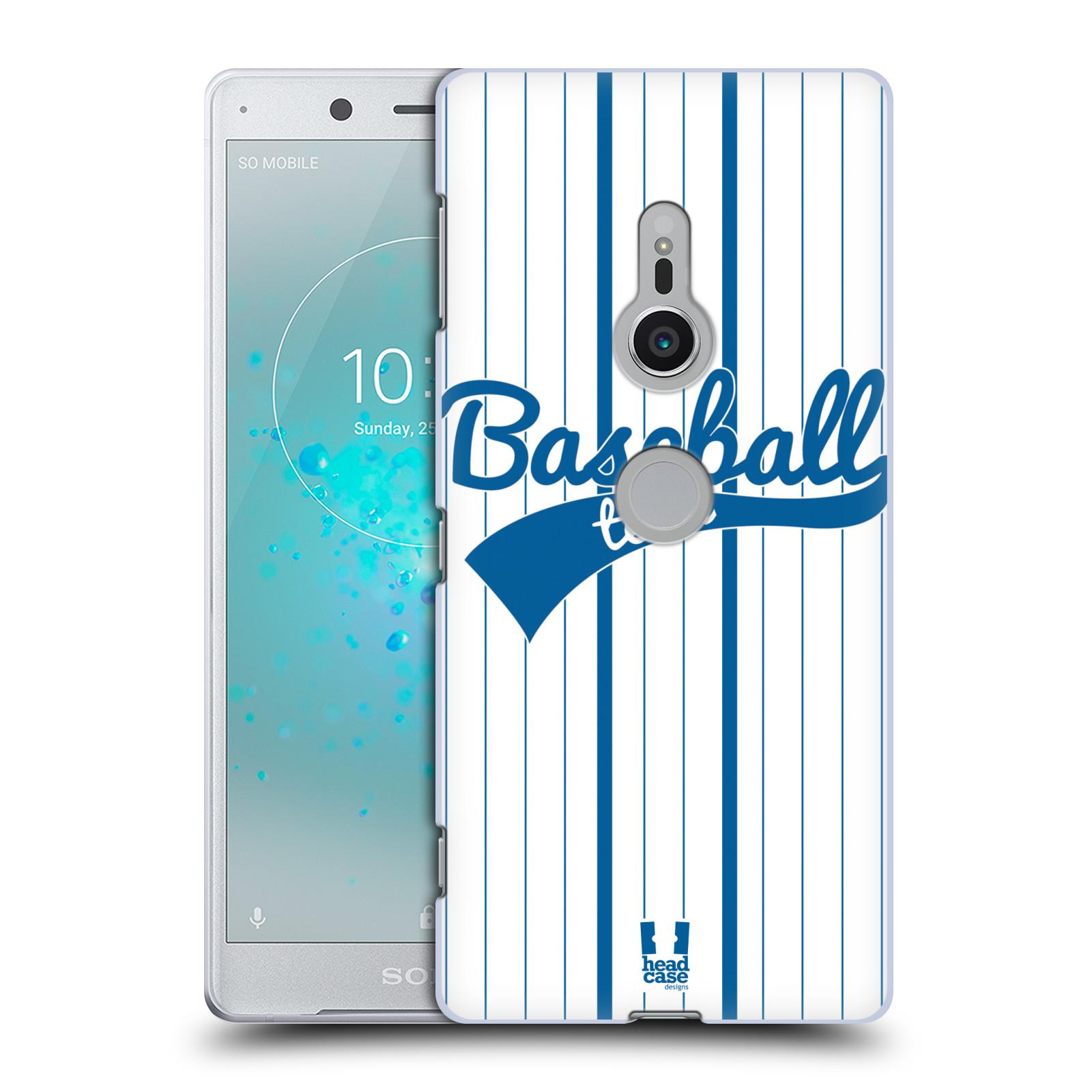 HEAD CASE plastový obal na mobil Sony Xperia XZ2 Sportovní dres Baseball