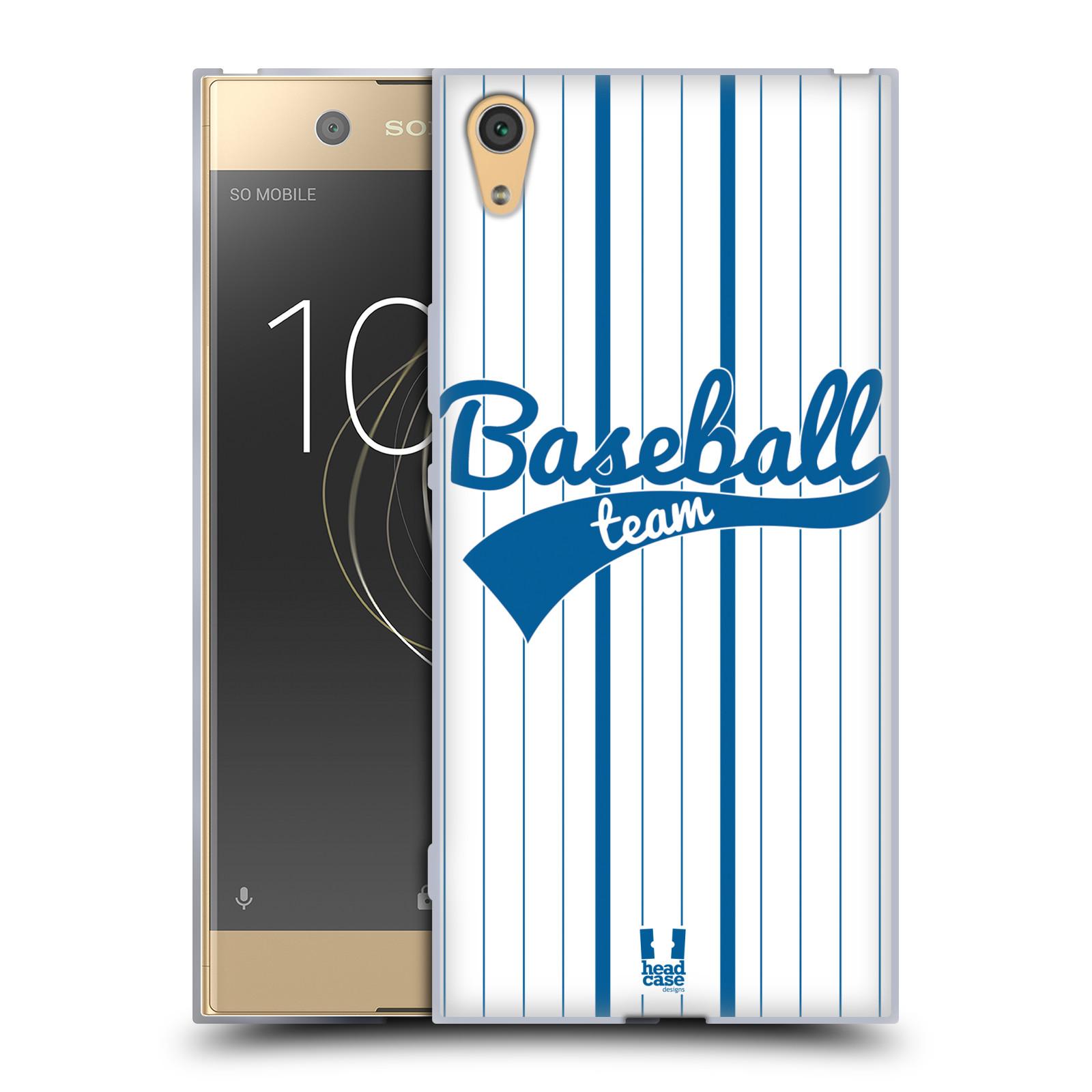 HEAD CASE silikonový obal na mobil Sony Xperia XA1 ULTRA Sportovní dres Baseball