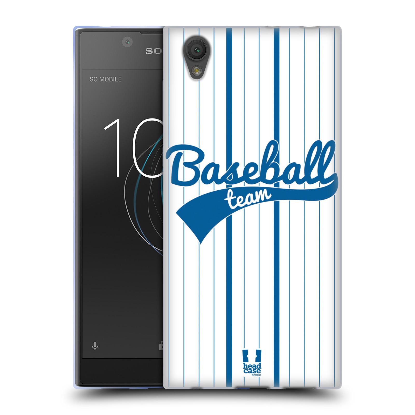 HEAD CASE silikonový obal na mobil Sony Xperia L1 Sportovní dres Baseball