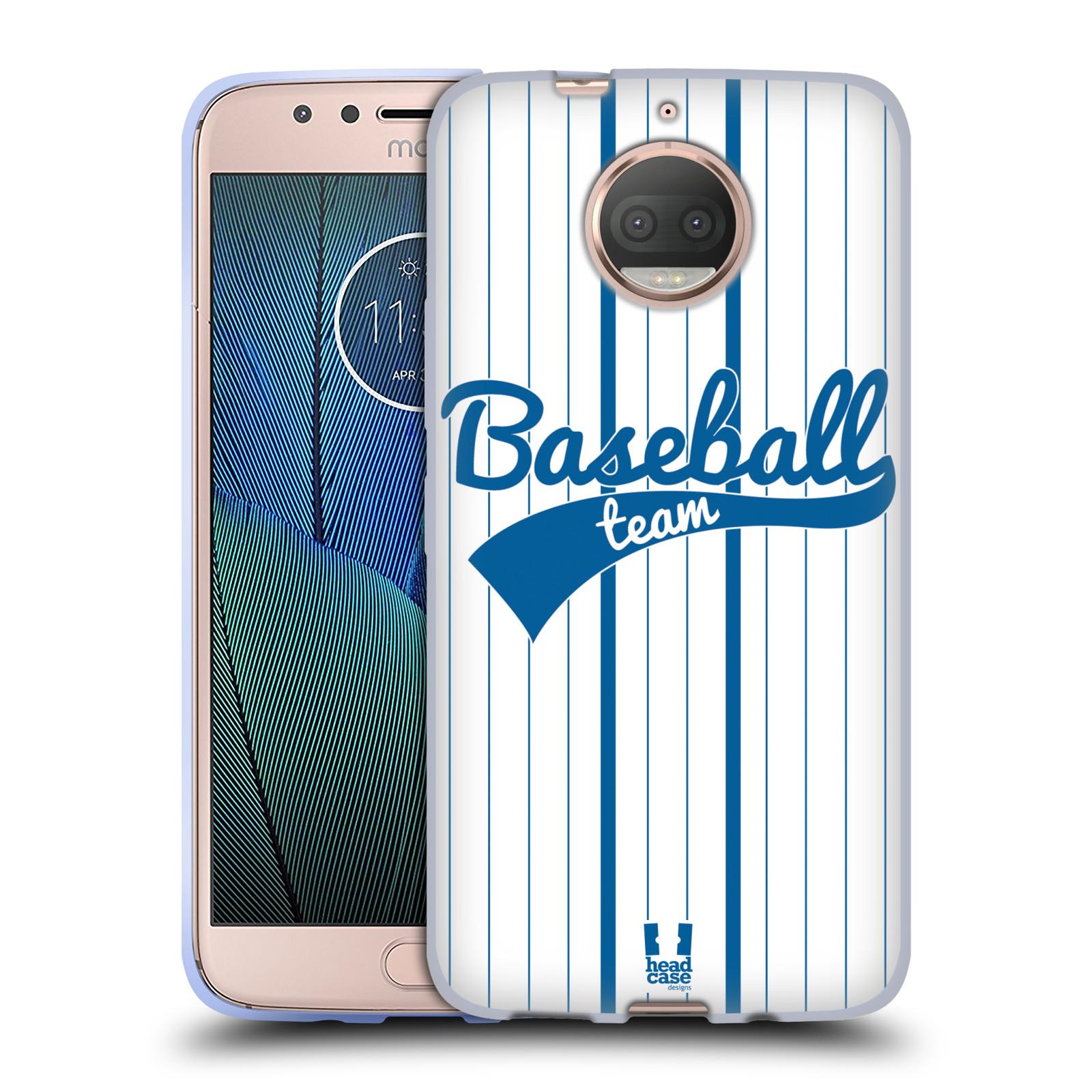 HEAD CASE silikonový obal na mobil Lenovo Moto G5s PLUS Sportovní dres Baseball