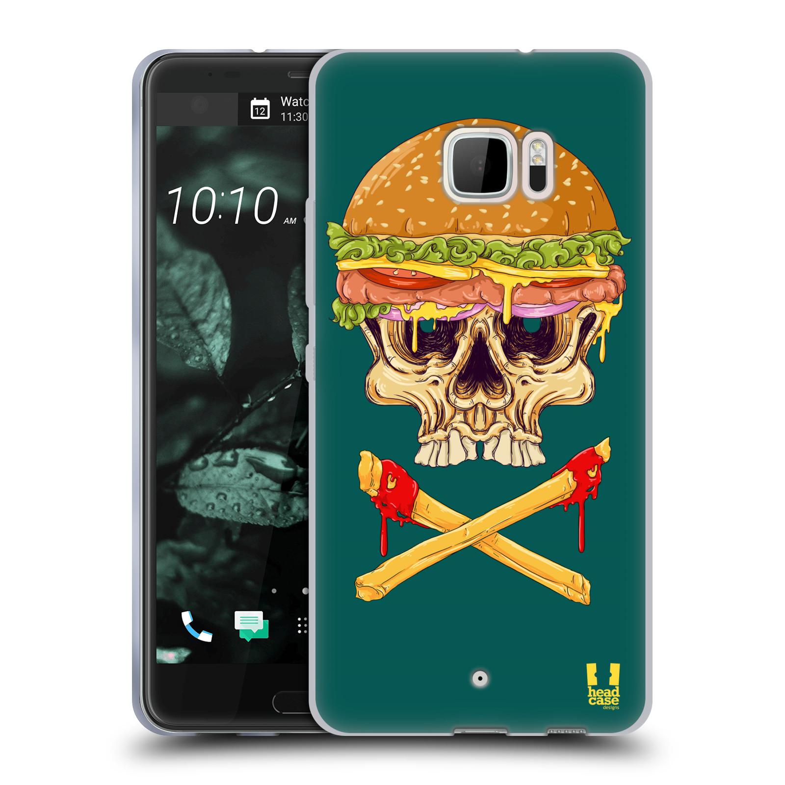 HEAD-CASE-DESIGNS-SANDWICH-DI-TESCHI-COVER-MORBIDA-IN-GEL-PER-HTC-U-ULTRA