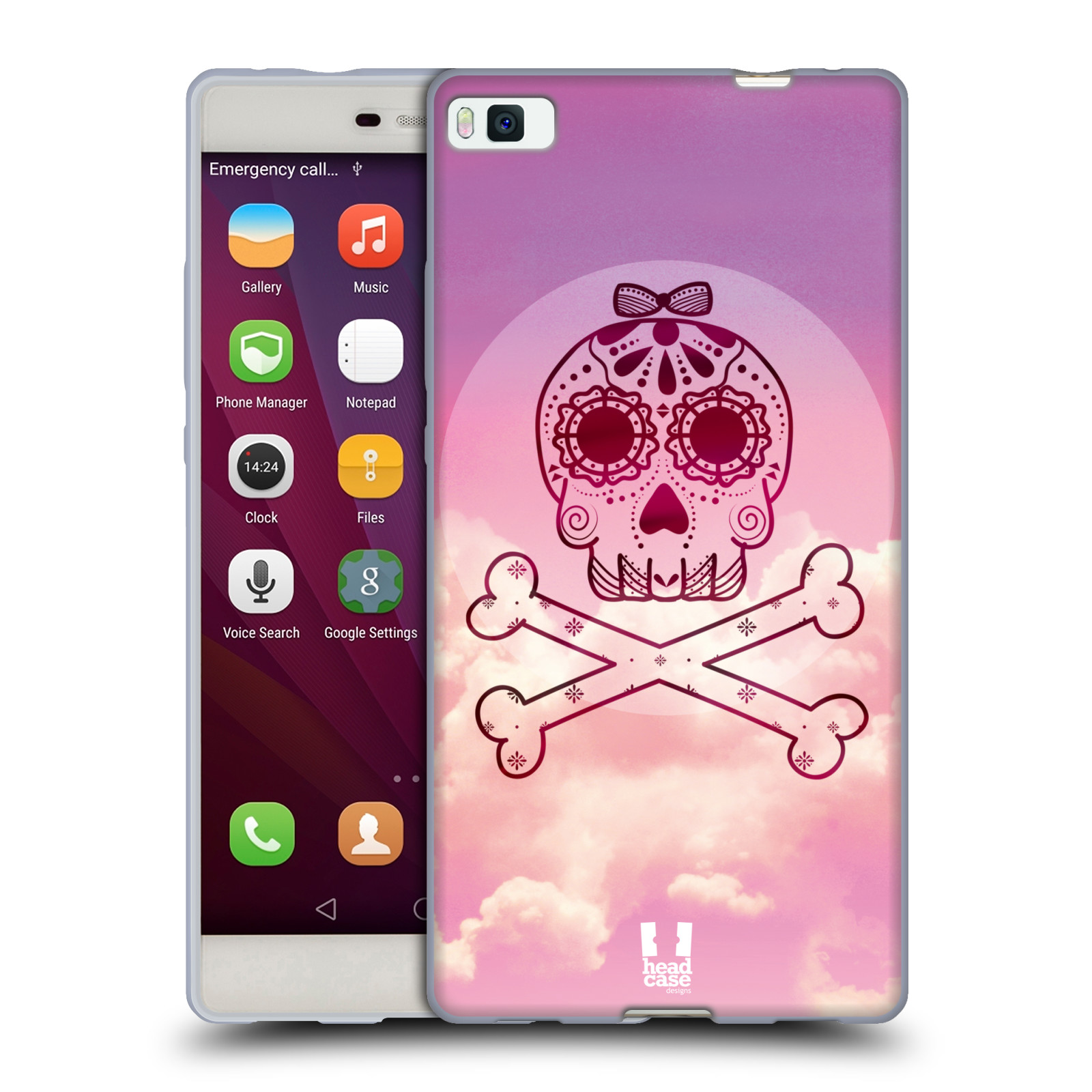 HEAD-CASE-DESIGNS-SKY-SKULLS-SOFT-GEL-CASE-FOR-HUAWEI-PHONES