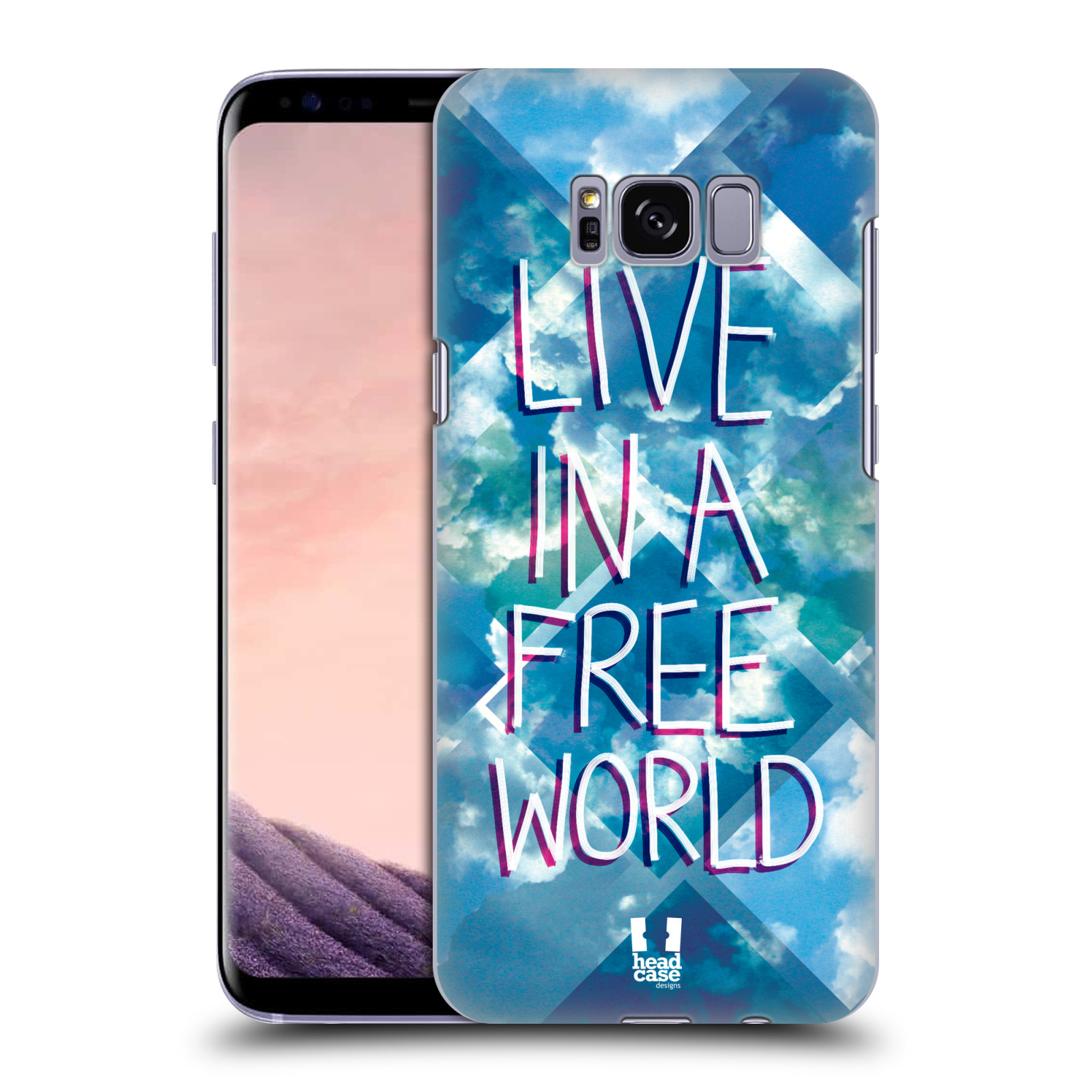 HEAD-CASE-DESIGNS-SKY-WONDERLAND-HARD-BACK-CASE-FOR-SAMSUNG-GALAXY-S8