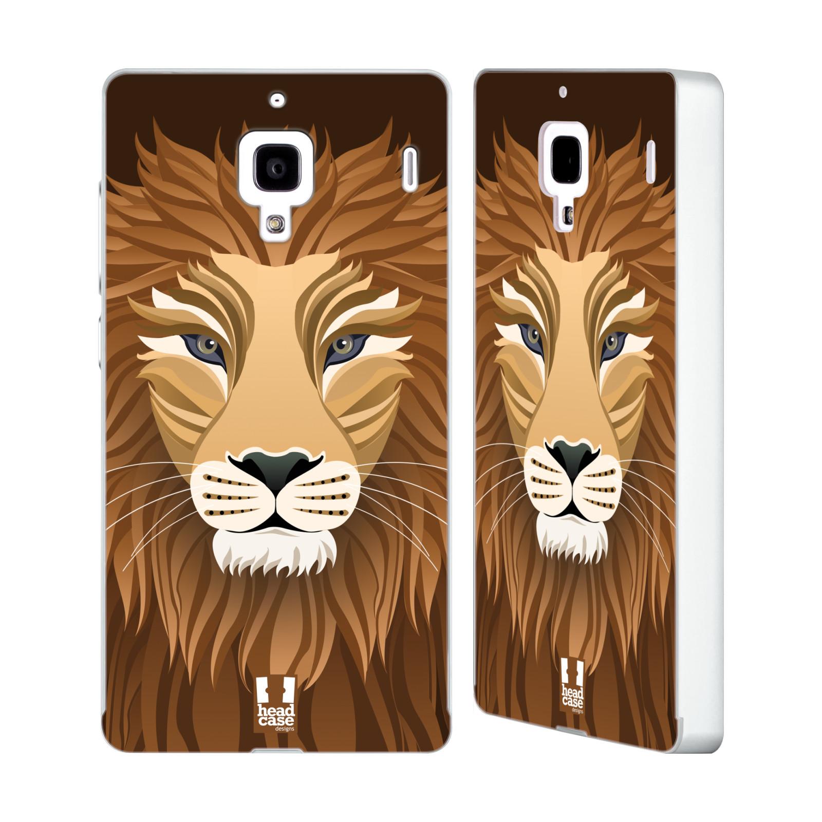 HEAD-CASE-DESIGNS-SLICK-ANIMALS-SILVER-SLIDER-CASE-FOR-HUAWEI-XIAOMI-PHONES