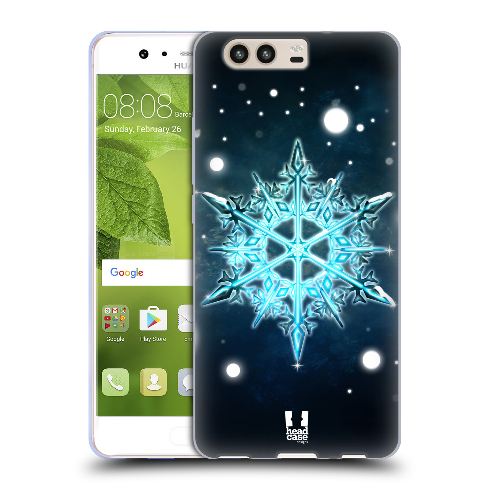 HEAD-CASE-DESIGNS-FIOCCHI-DI-NEVE-COVER-MORBIDA-IN-GEL-PER-HUAWEI-P10