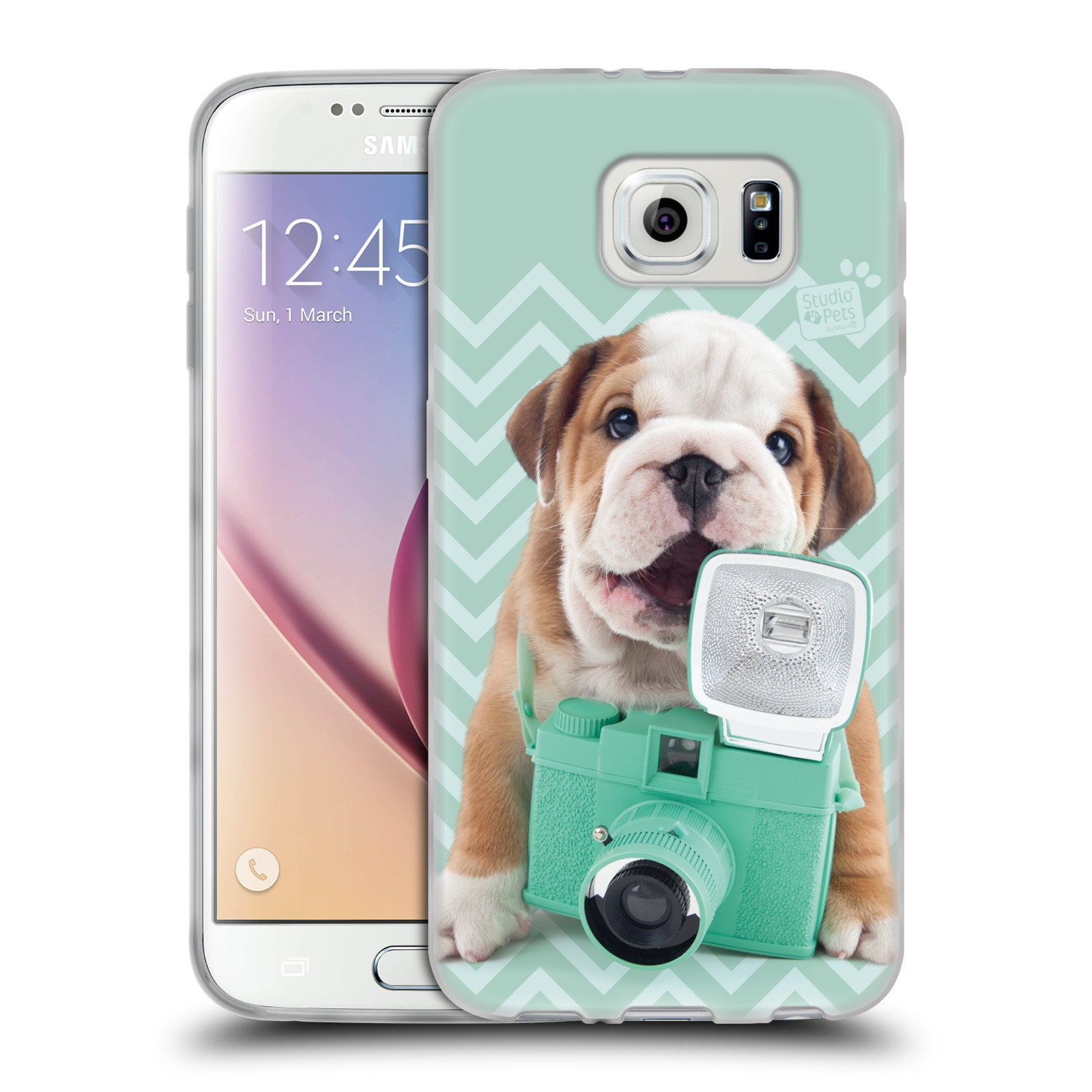 OFFICIAL STUDIO PETS PATTERNS SOFT GEL CASE FOR SAMSUNG PHONES 1