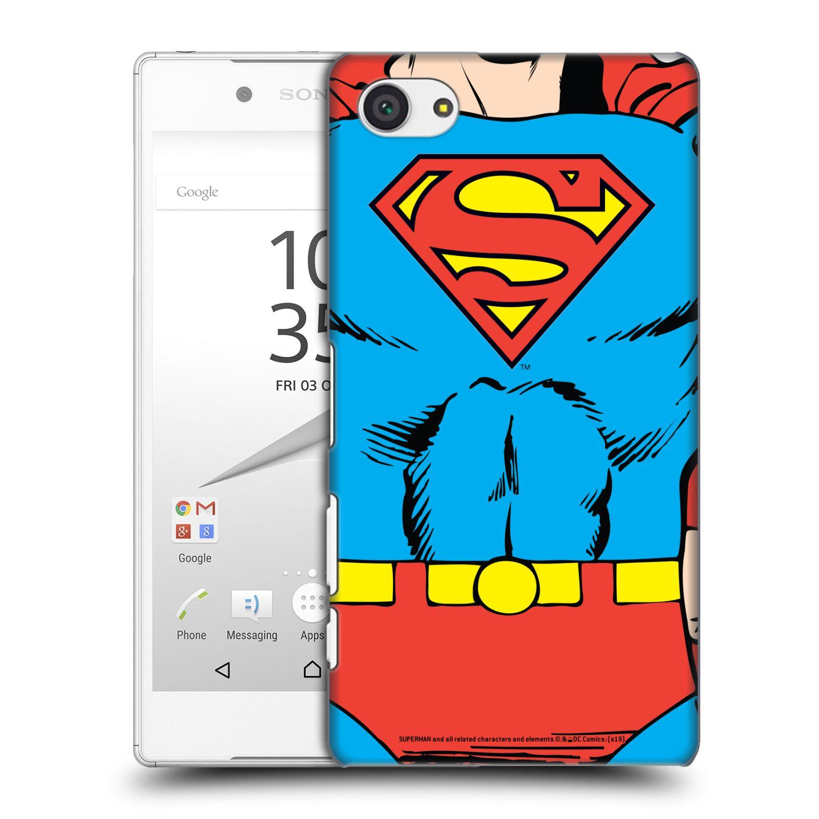 Pouzdro na mobil Sony Xperia Z5 COMPACT - HEAD CASE - DC komix Superman v obleku