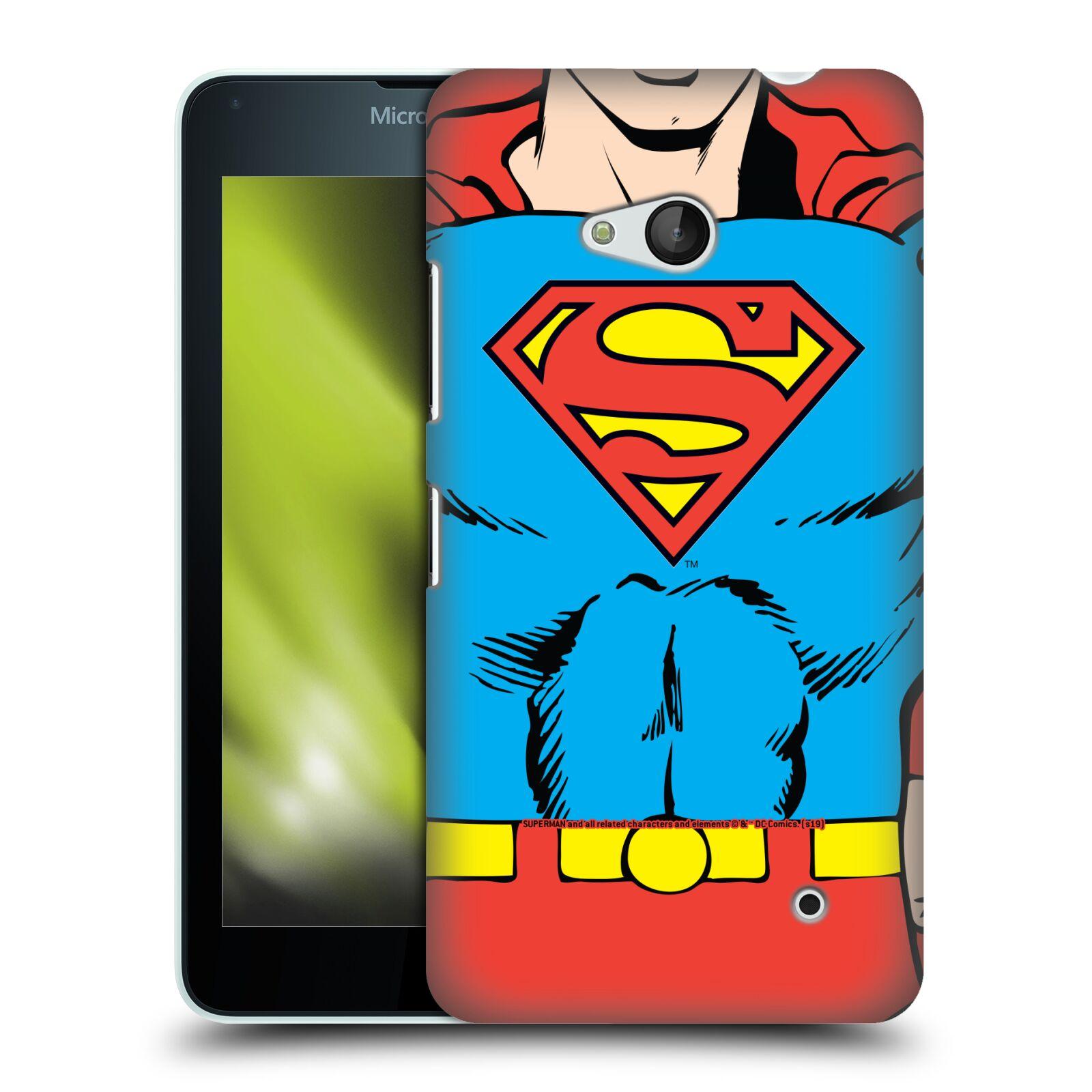 Pouzdro na mobil Microsoft Lumia 640 / 640 DUAL SIM - HEAD CASE - DC komix Superman v obleku