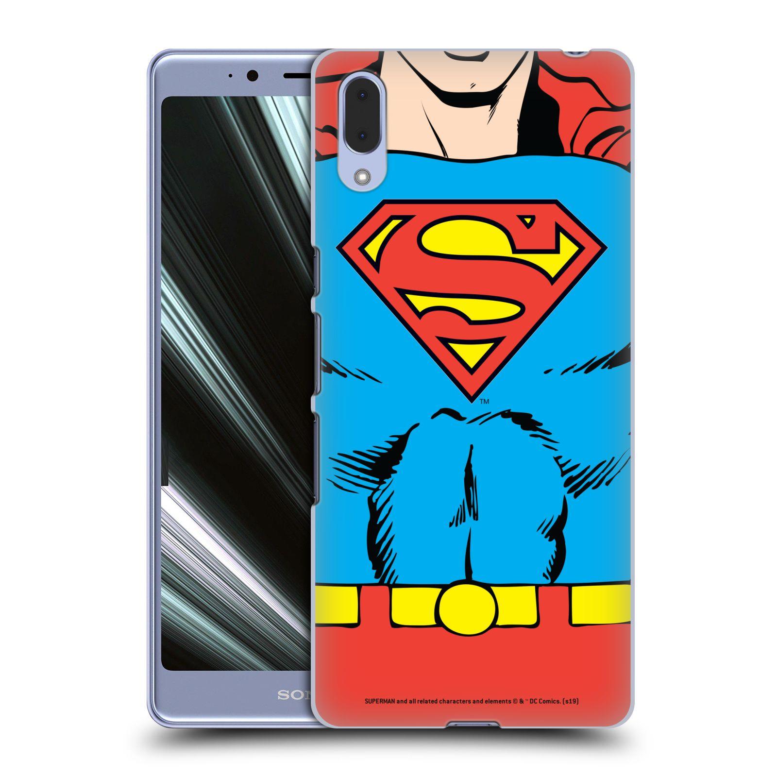 Pouzdro na mobil Sony Xperia L3 - HEAD CASE - DC komix Superman v obleku