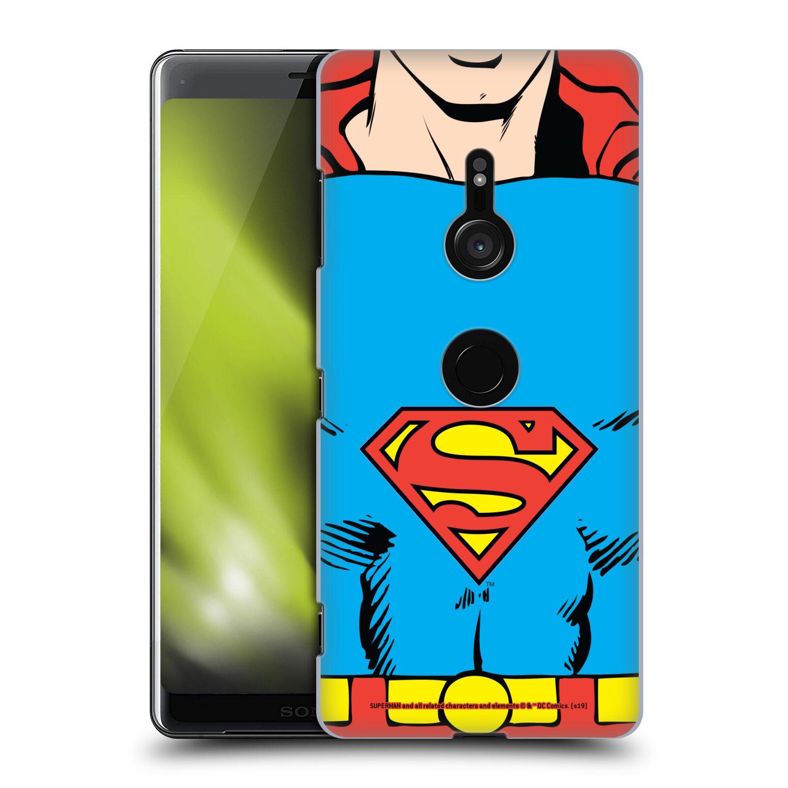 Pouzdro na mobil Sony Xperia XZ3 - HEAD CASE - DC komix Superman v obleku
