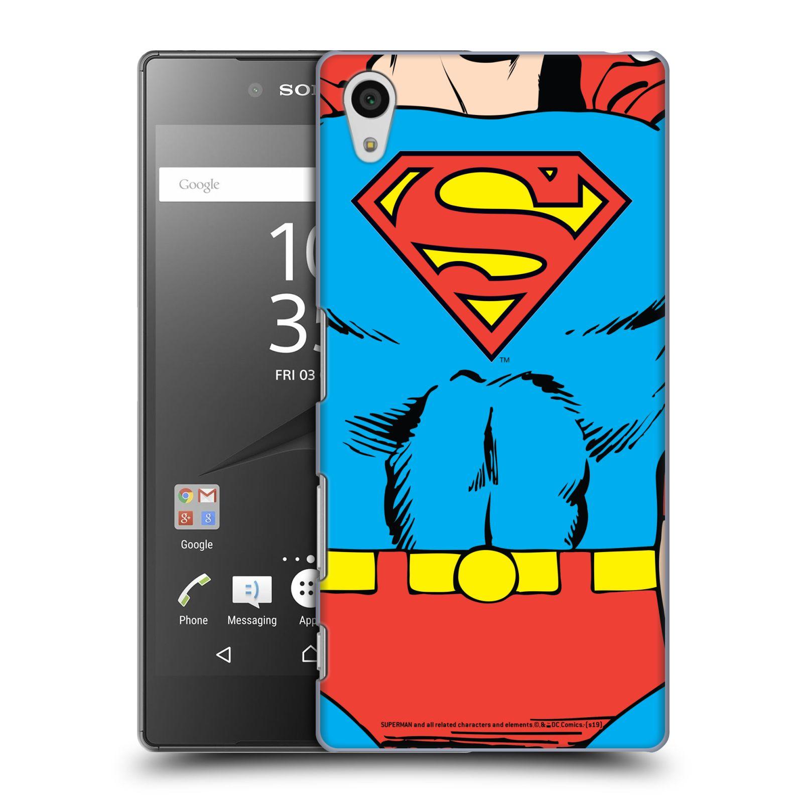 Pouzdro na mobil Sony Xperia Z5 - HEAD CASE - DC komix Superman v obleku