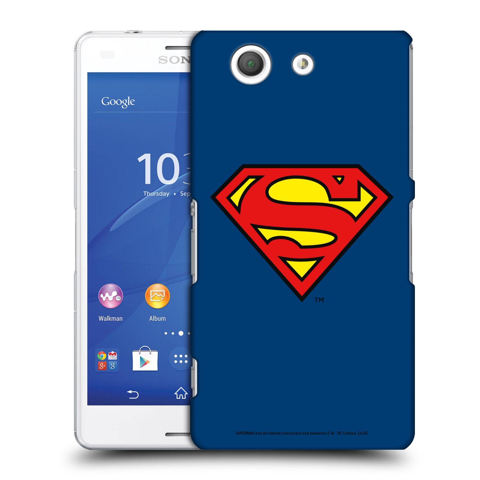 Pouzdro na mobil Sony Xperia Z3 COMPACT - HEAD CASE - DC komix Superman