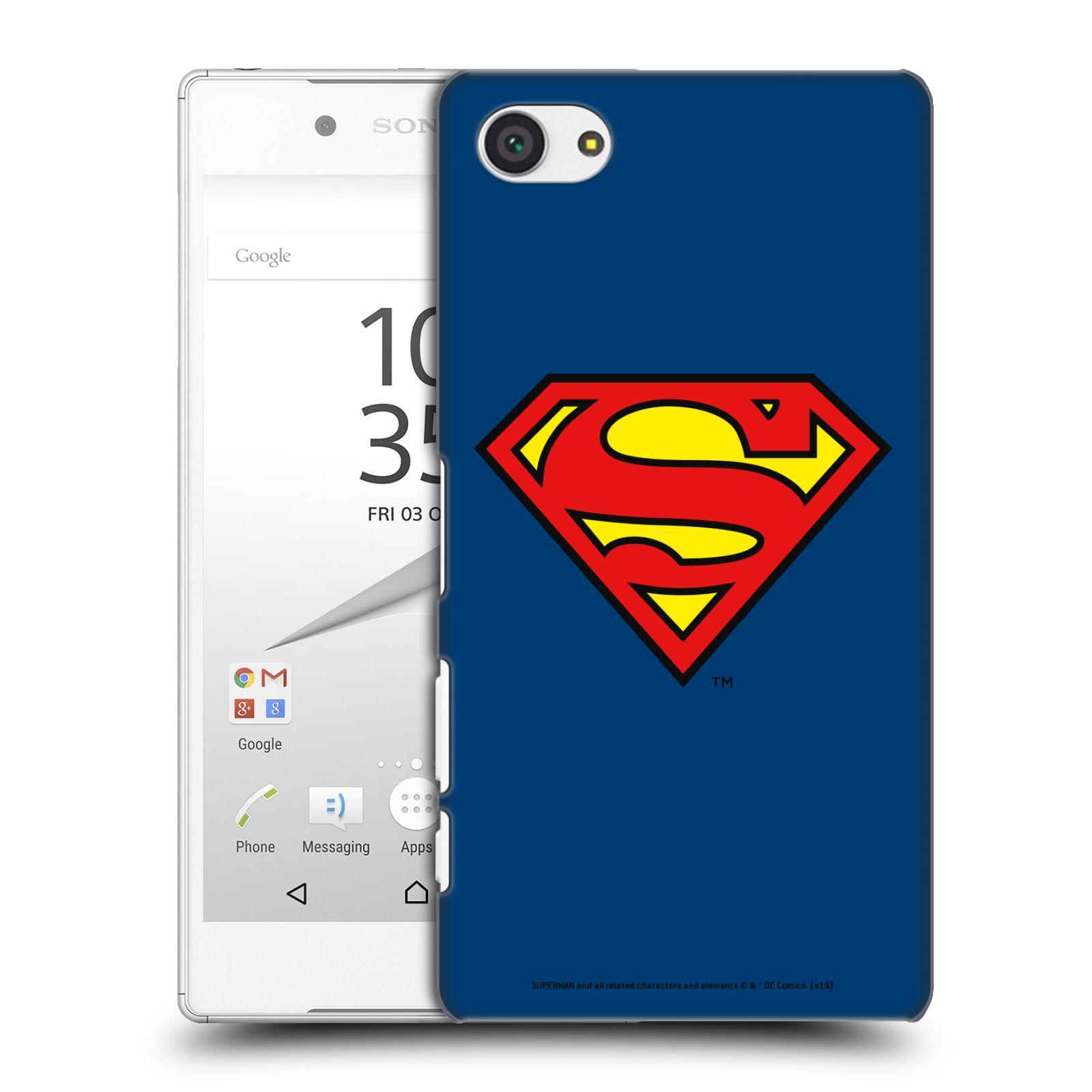Pouzdro na mobil Sony Xperia Z5 COMPACT - HEAD CASE - DC komix Superman