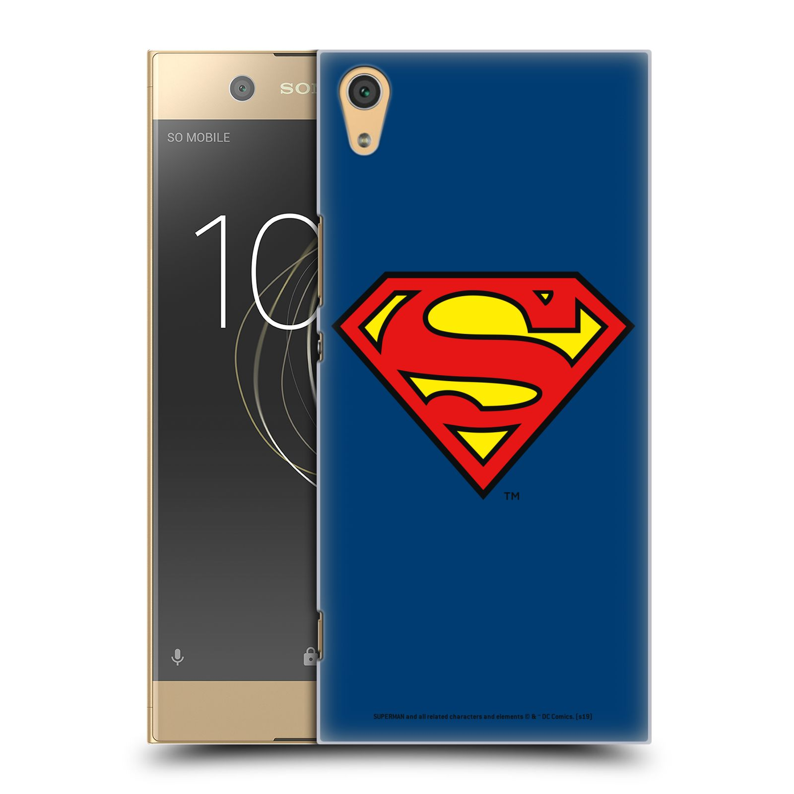 Pouzdro na mobil Sony Xperia XA1 ULTRA - HEAD CASE - DC komix Superman