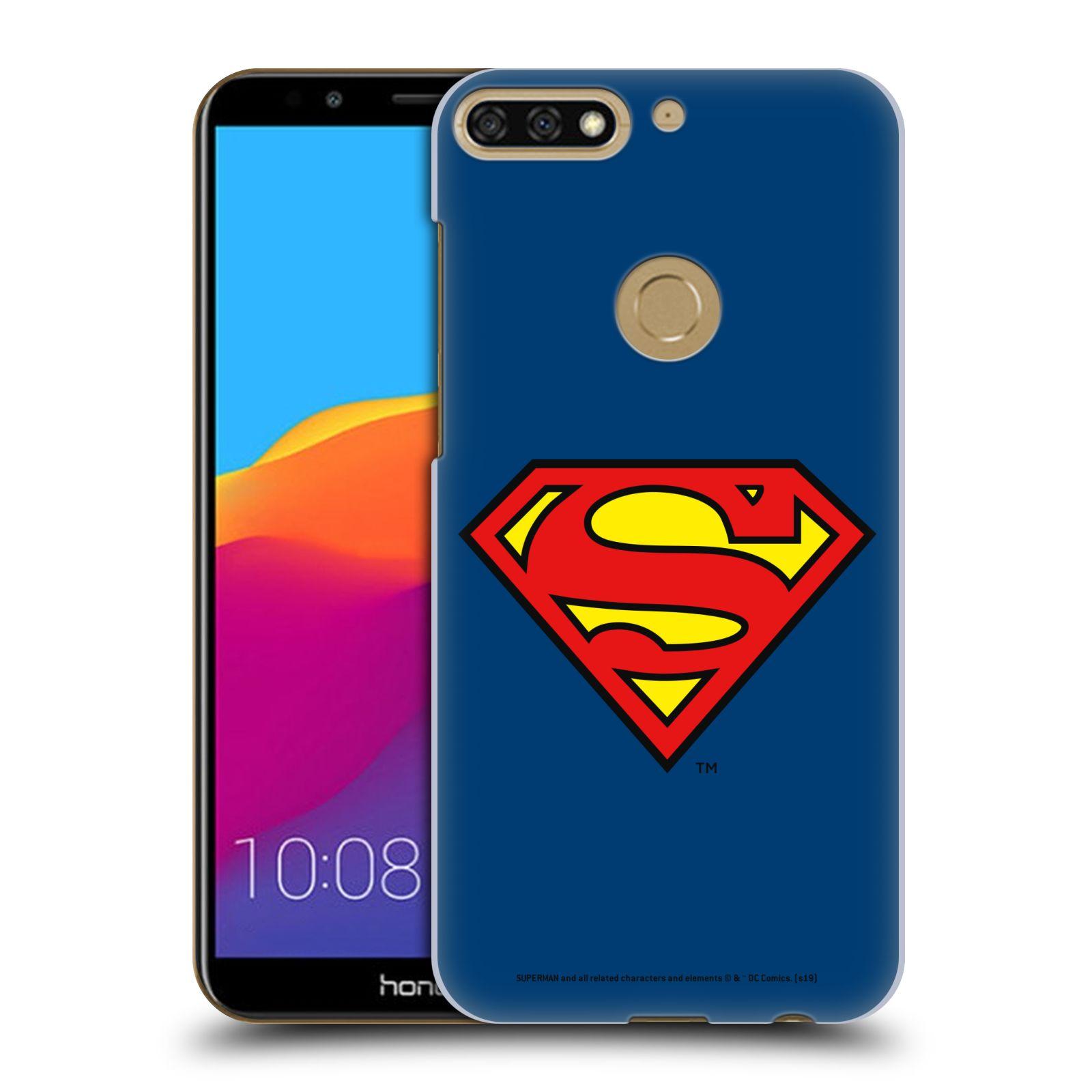 Pouzdro na mobil HONOR 7C - HEAD CASE - DC komix Superman
