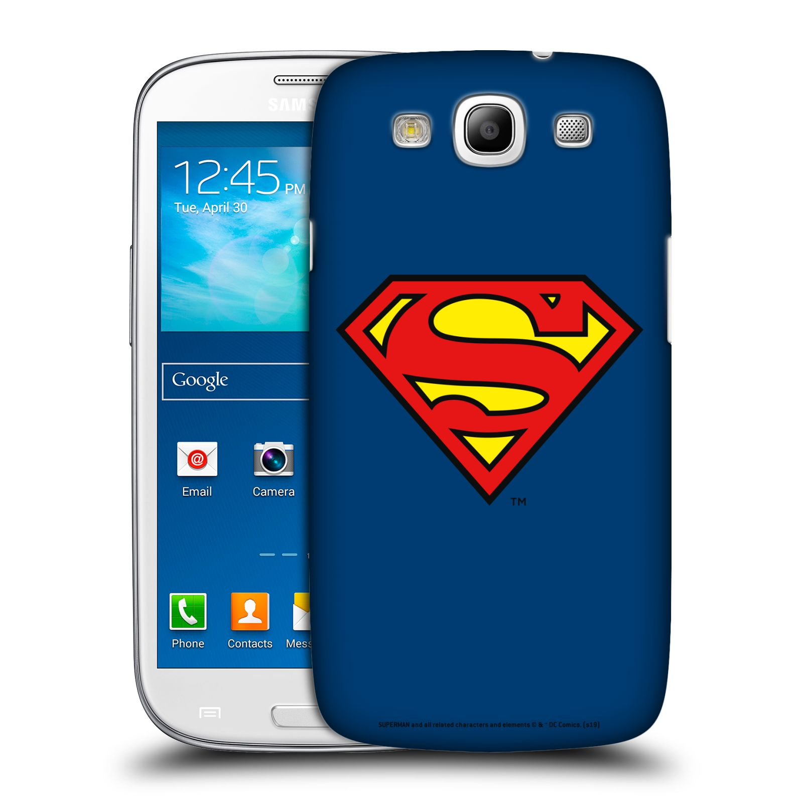 Pouzdro na mobil Samsung Galaxy S3 - HEAD CASE - DC komix Superman
