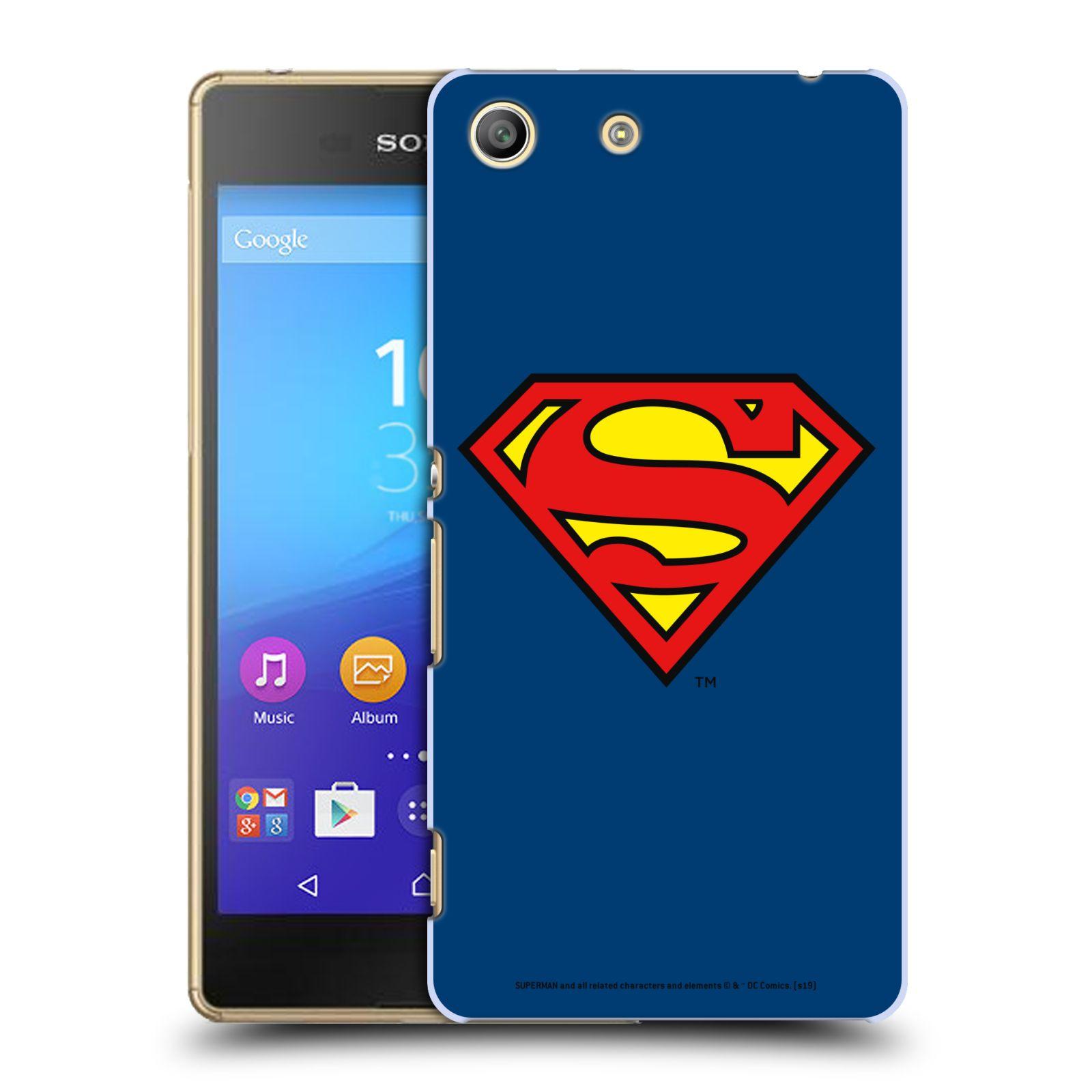 Pouzdro na mobil Sony Xperia M5 - HEAD CASE - DC komix Superman