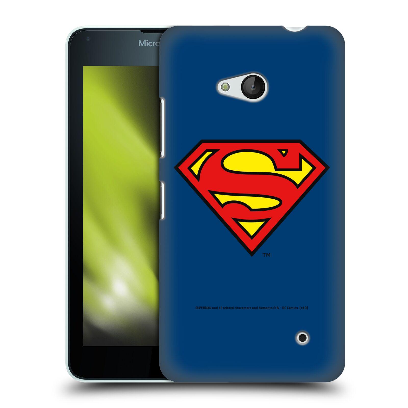 Pouzdro na mobil Microsoft Lumia 640 / 640 DUAL SIM - HEAD CASE - DC komix Superman