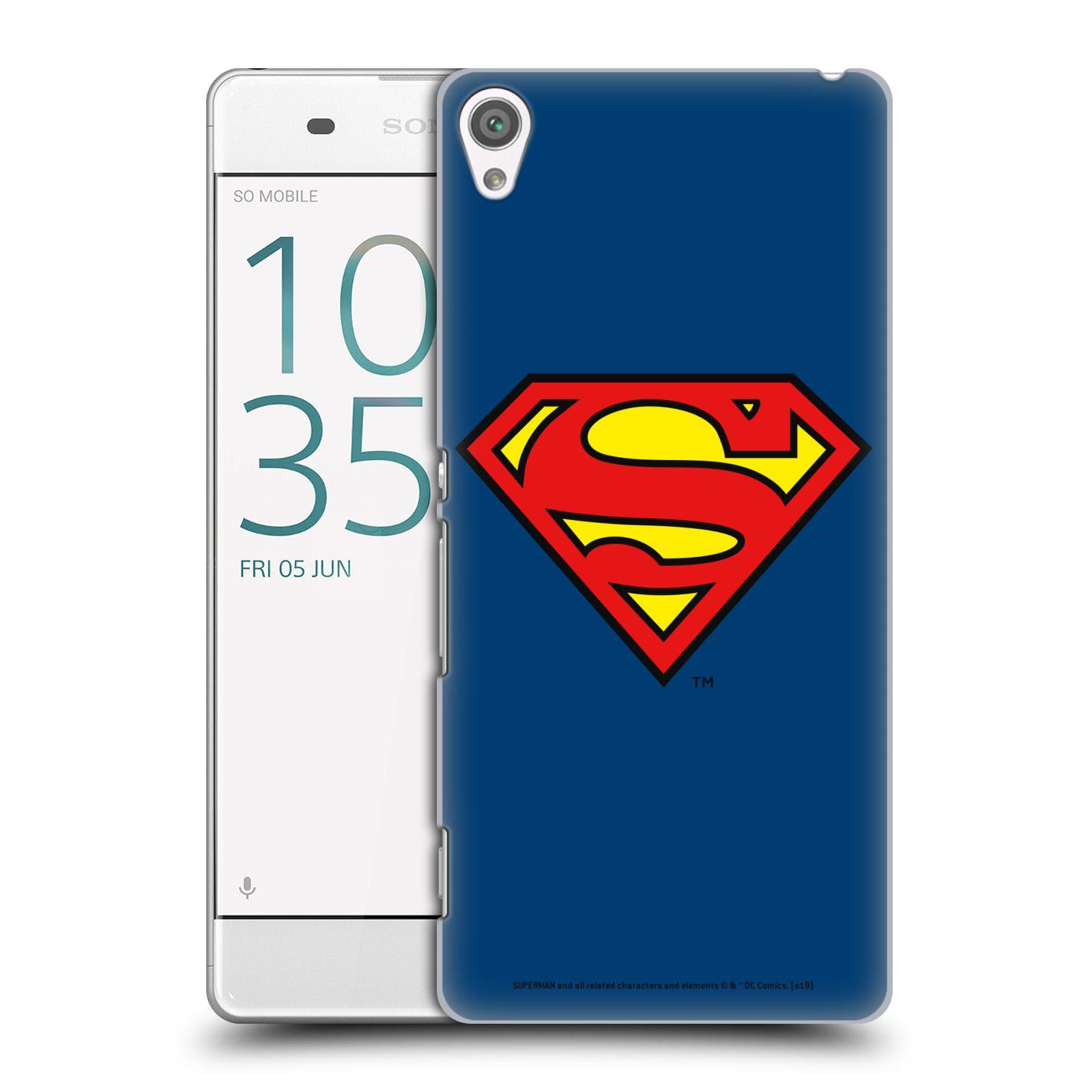 Pouzdro na mobil Sony Xperia XA - HEAD CASE - DC komix Superman